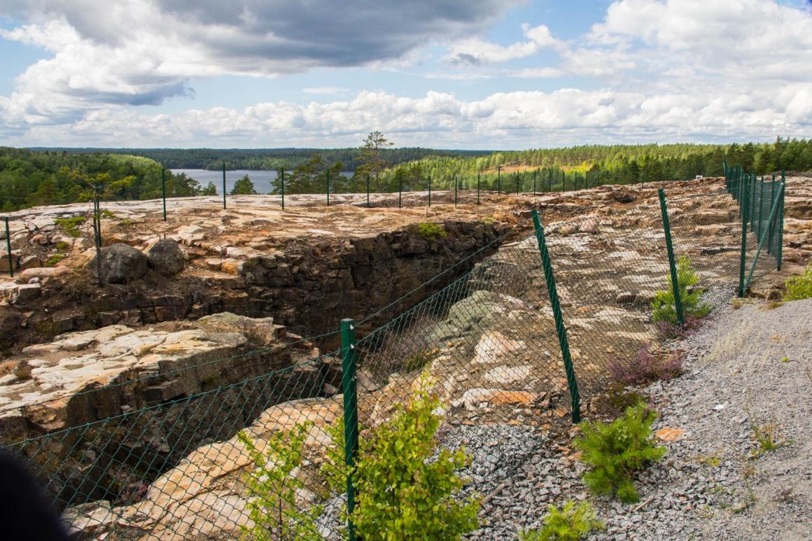 Gladhammars gruvor
