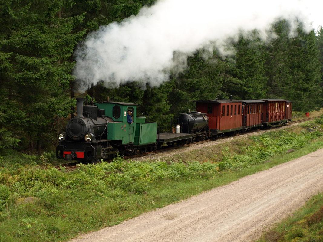 Steam train on Ohsabanan