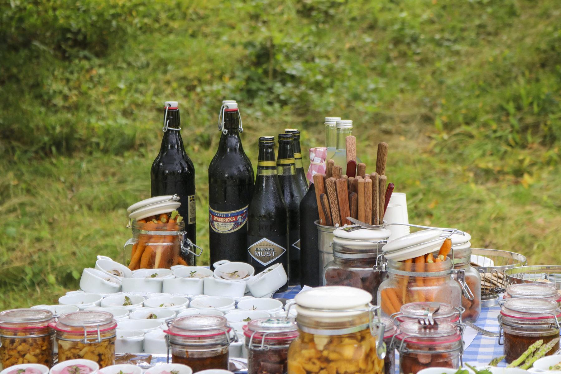 Guided food walk at Korrö