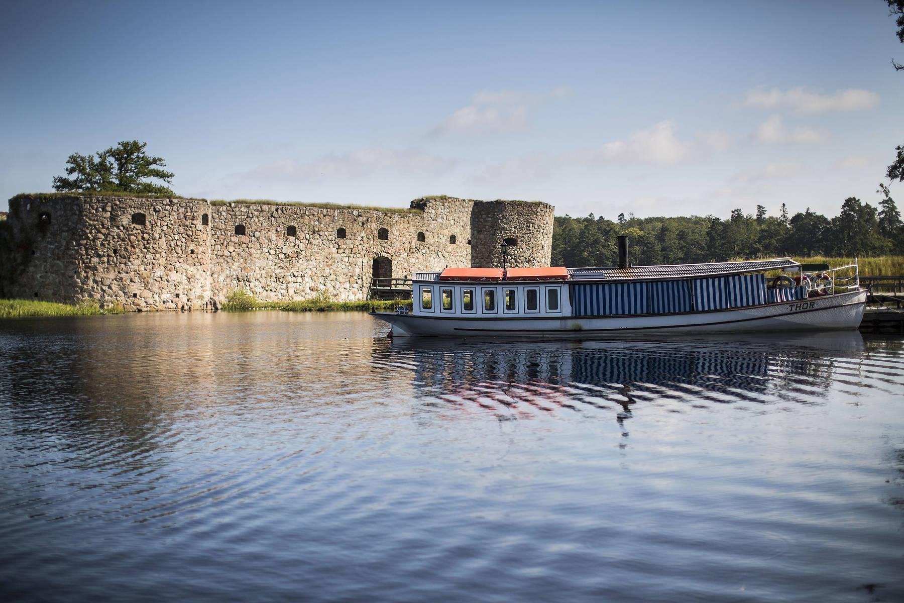 Ångaren Thor vid Kronobergs fästning