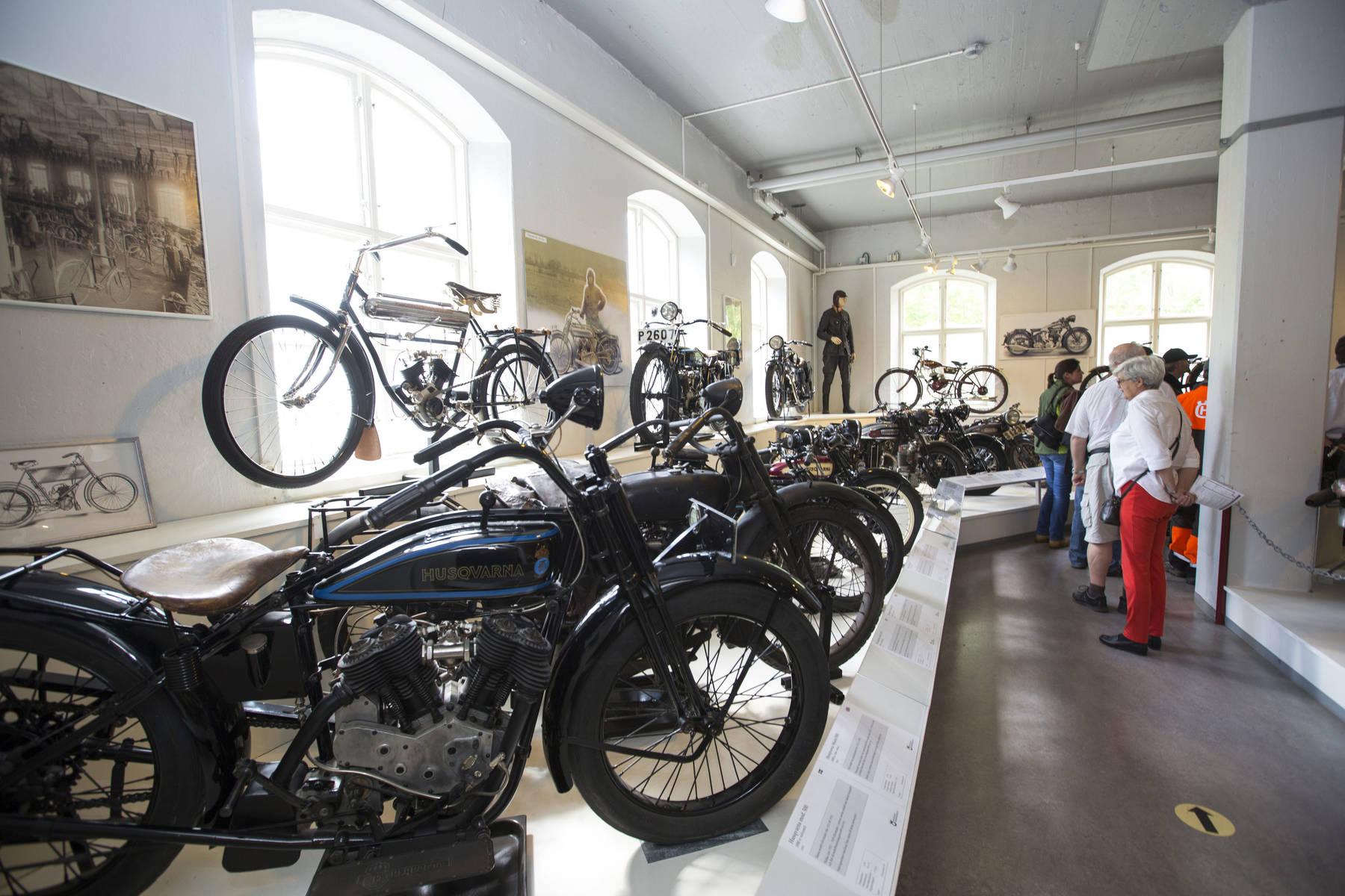 Inte bara motorcyklar, även det mesta till hemmet