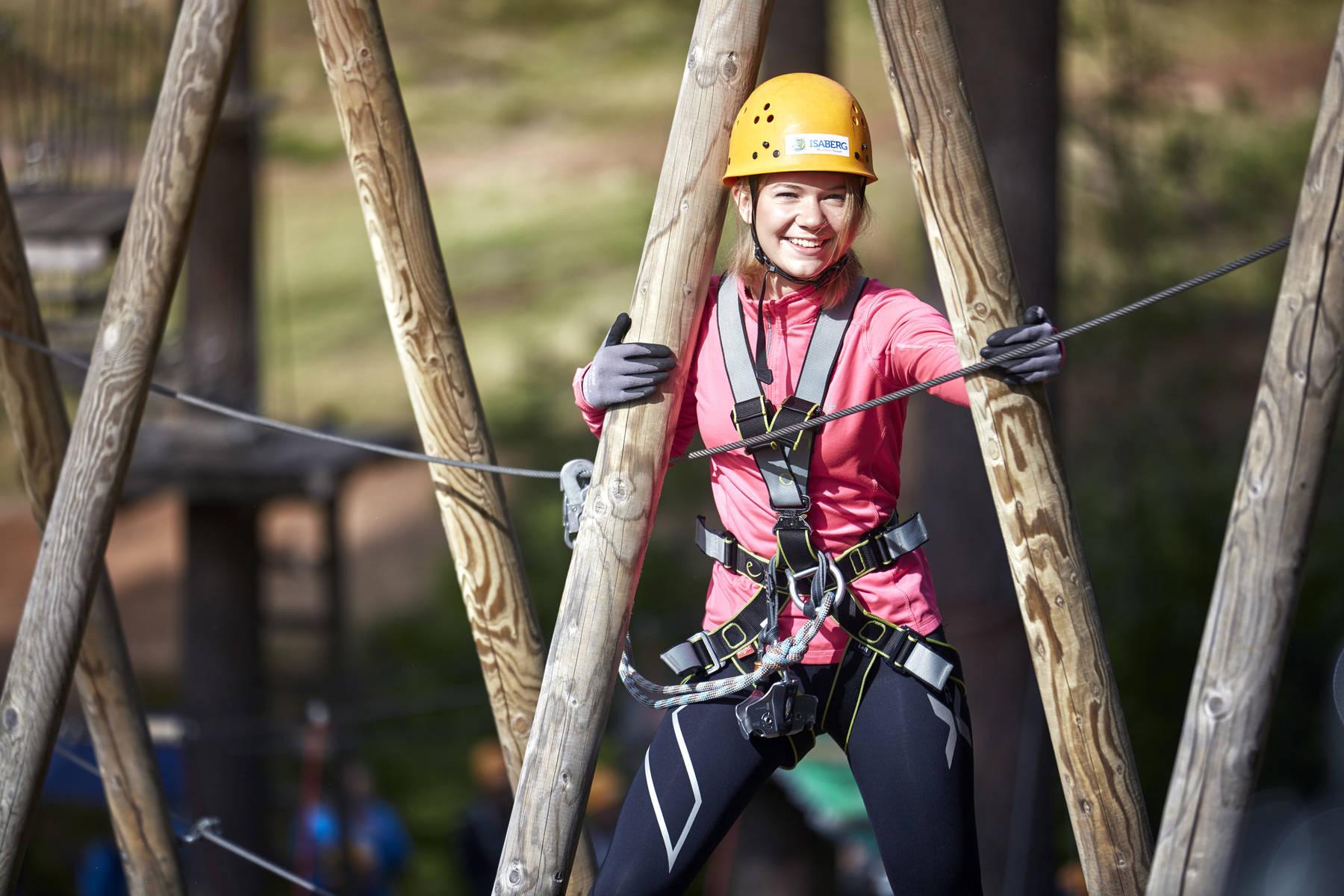Säkerhet och höjdrespekt ger upplevelser på Isaberg Mountain Resort