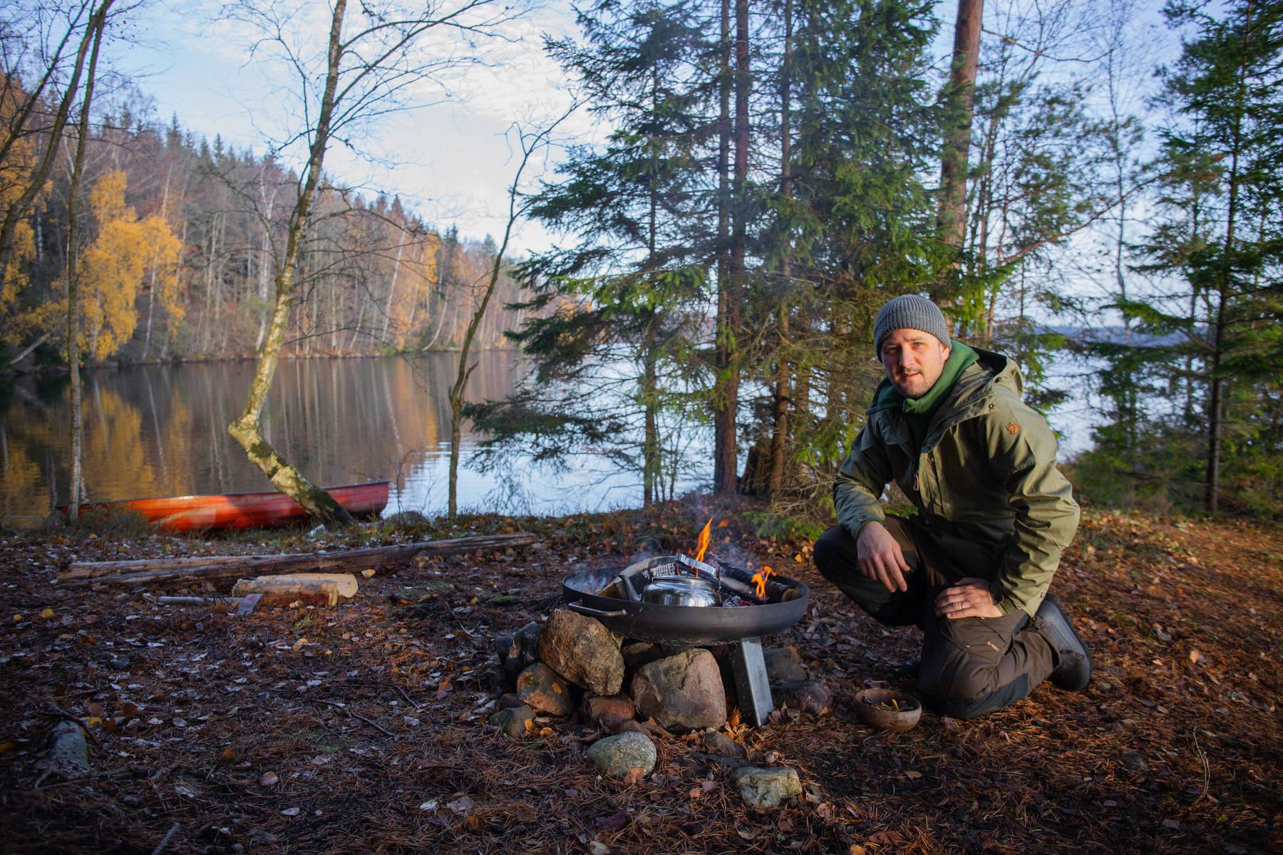 Jacob Holmström, Chefkoch in der Kampagne »Ein Land wird Restaurant« von VisitSweden