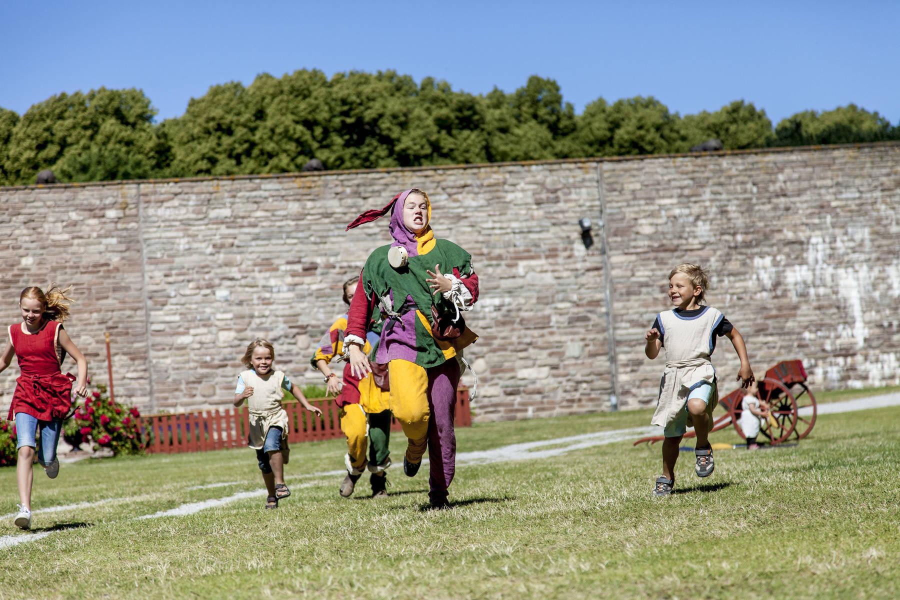 Das Schloss der Kinder auf Schloss Kalmar