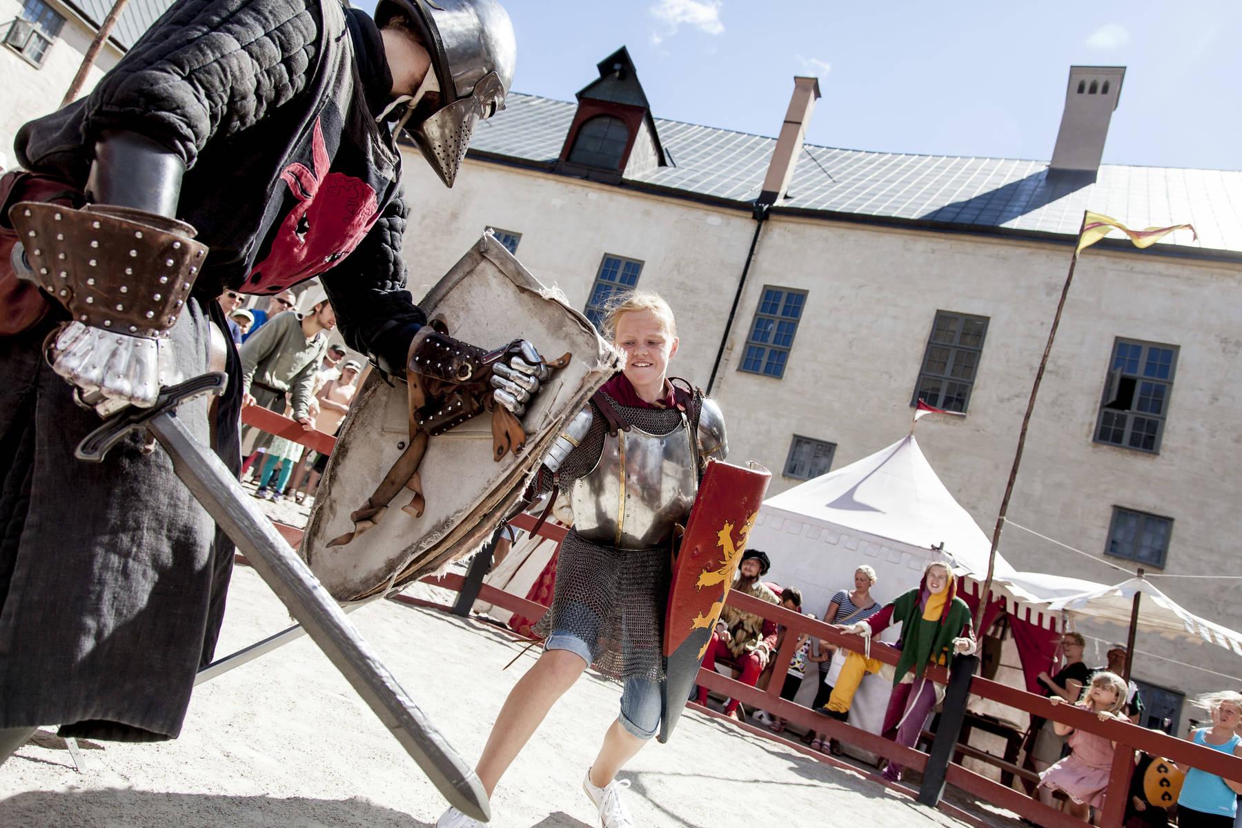 Werde Ritter im Schloss der Kinder