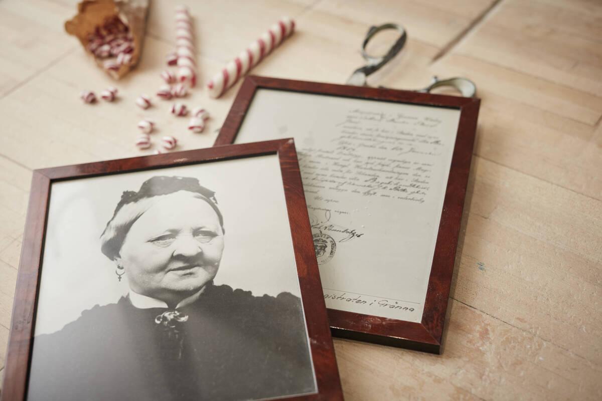 Tante Amalia aus Gränna in Schweden hat die polkagrisar erfunden