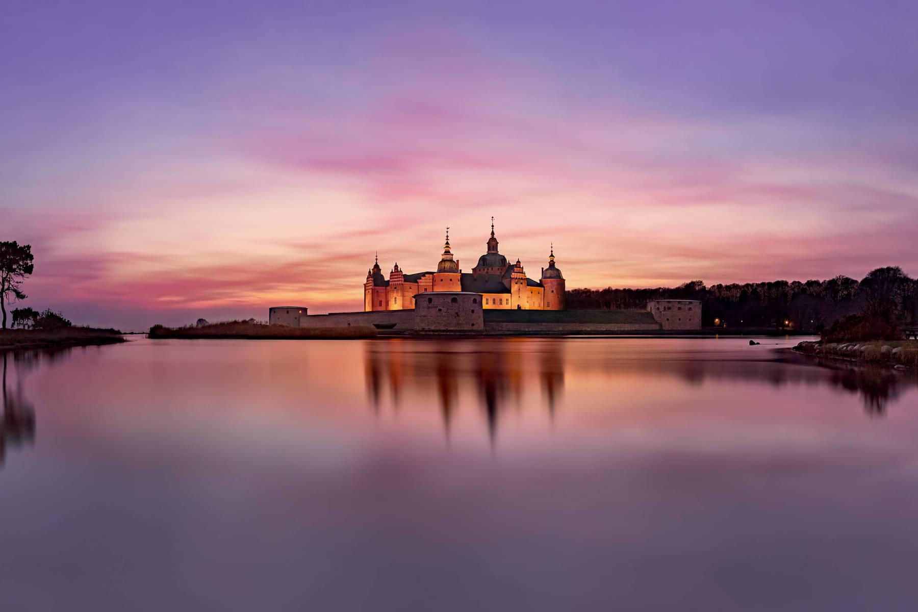 Jul på Kalmar slott