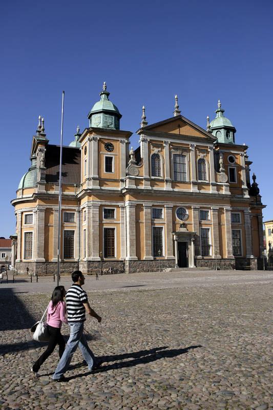 Die Kirche Kalmar Domkyrka in Småland