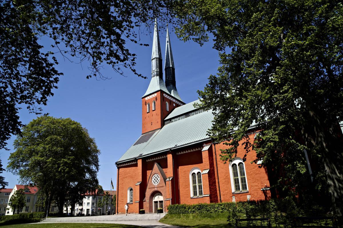 Der Dom von Växjö in Småland
