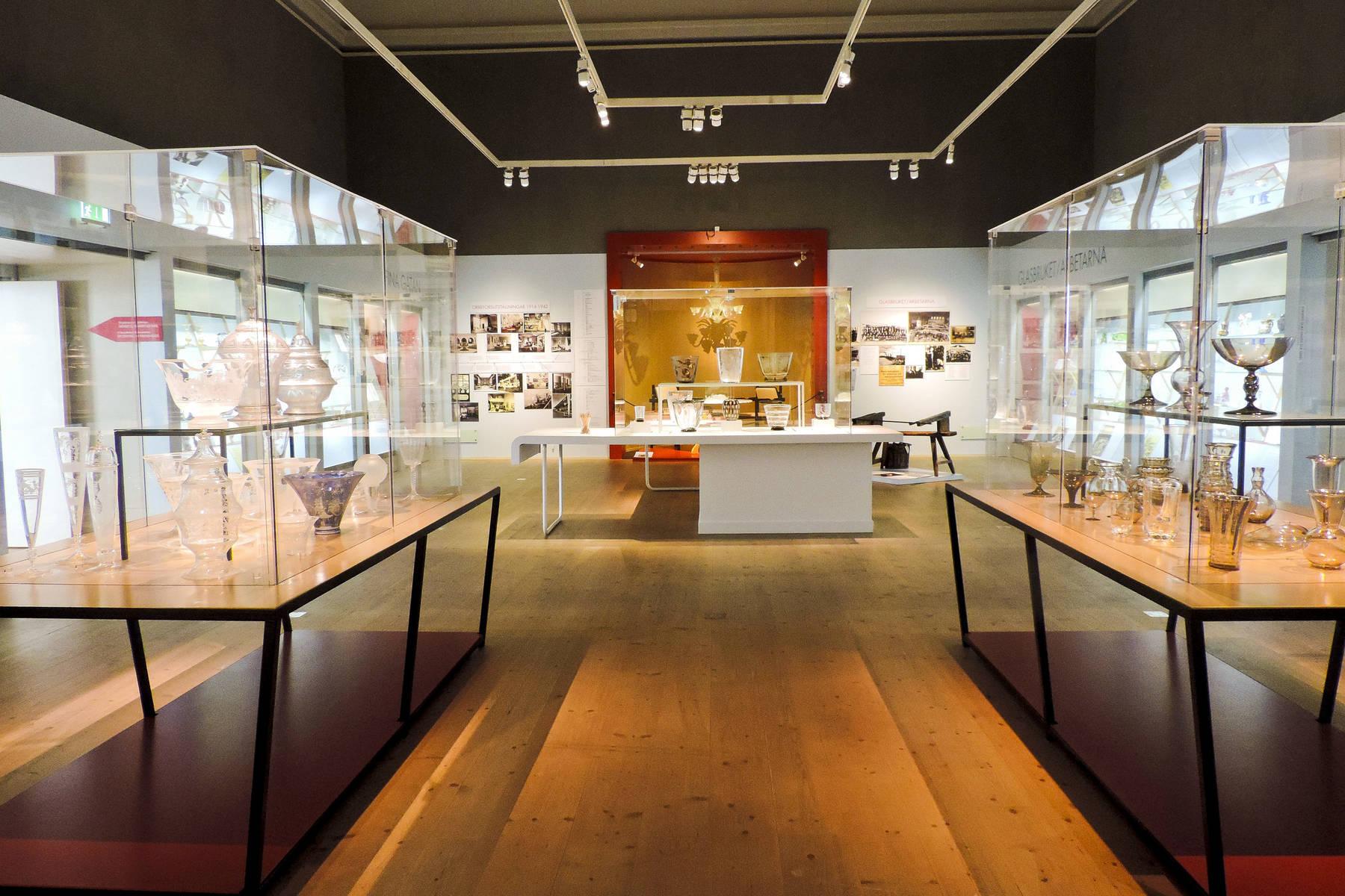 Das Schwedische Glasmuseum im »Kulturparken« in Växjö in Småland