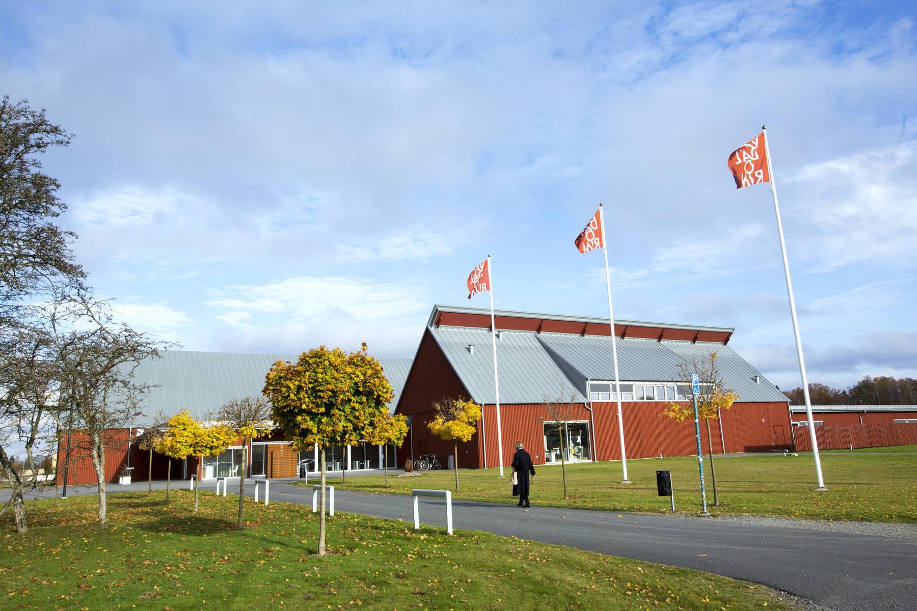 Vandalorum designcenter in Värnamo in Småland