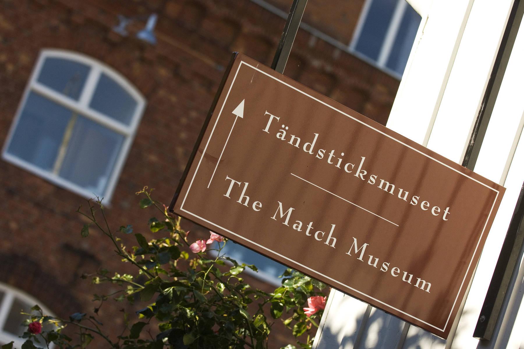 Hier geht's zum Streichholzmuseum in Jönköping
