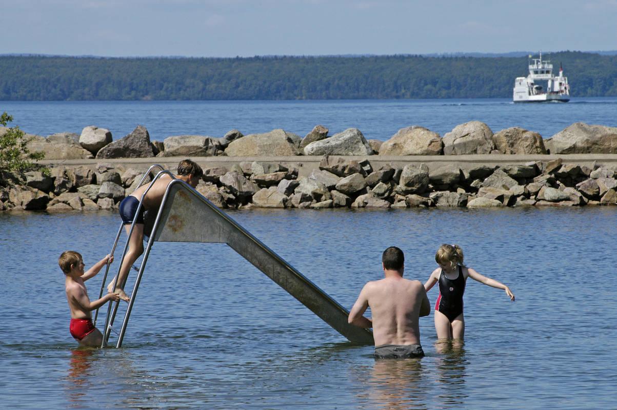 Gränna Badelagune in Småland