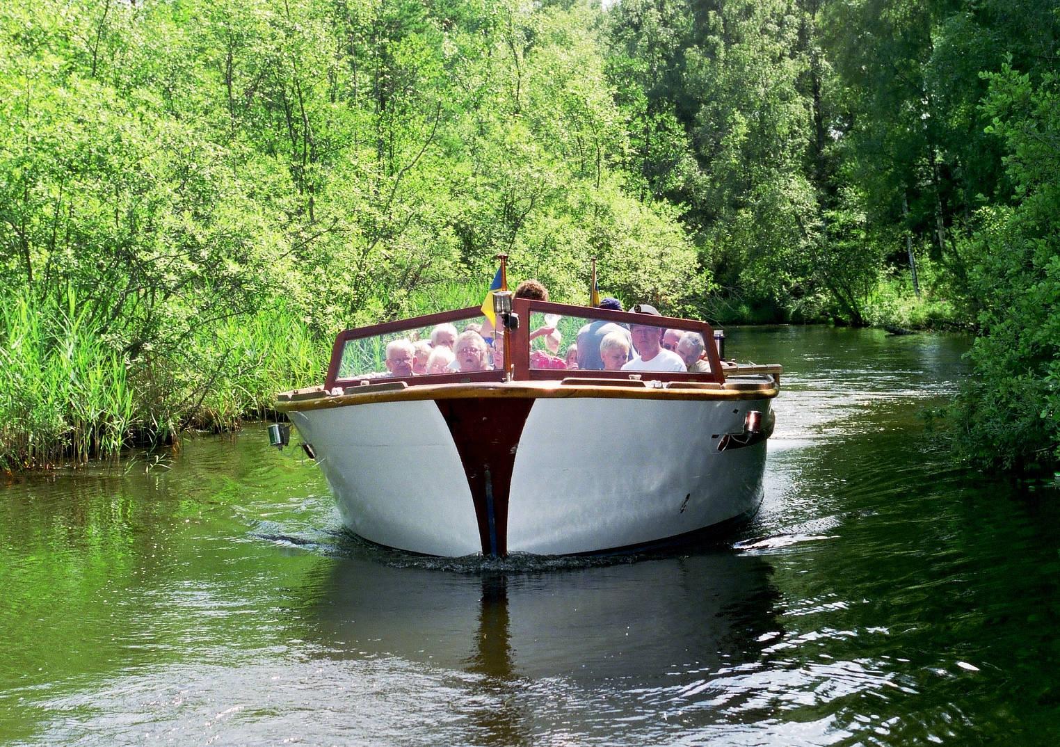 Bootsausflug mit Trolska