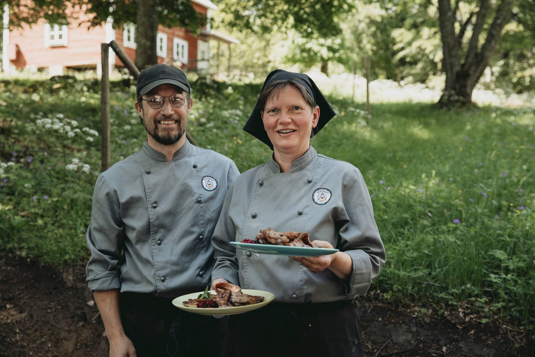 Peter und Malin von Sjöborgen