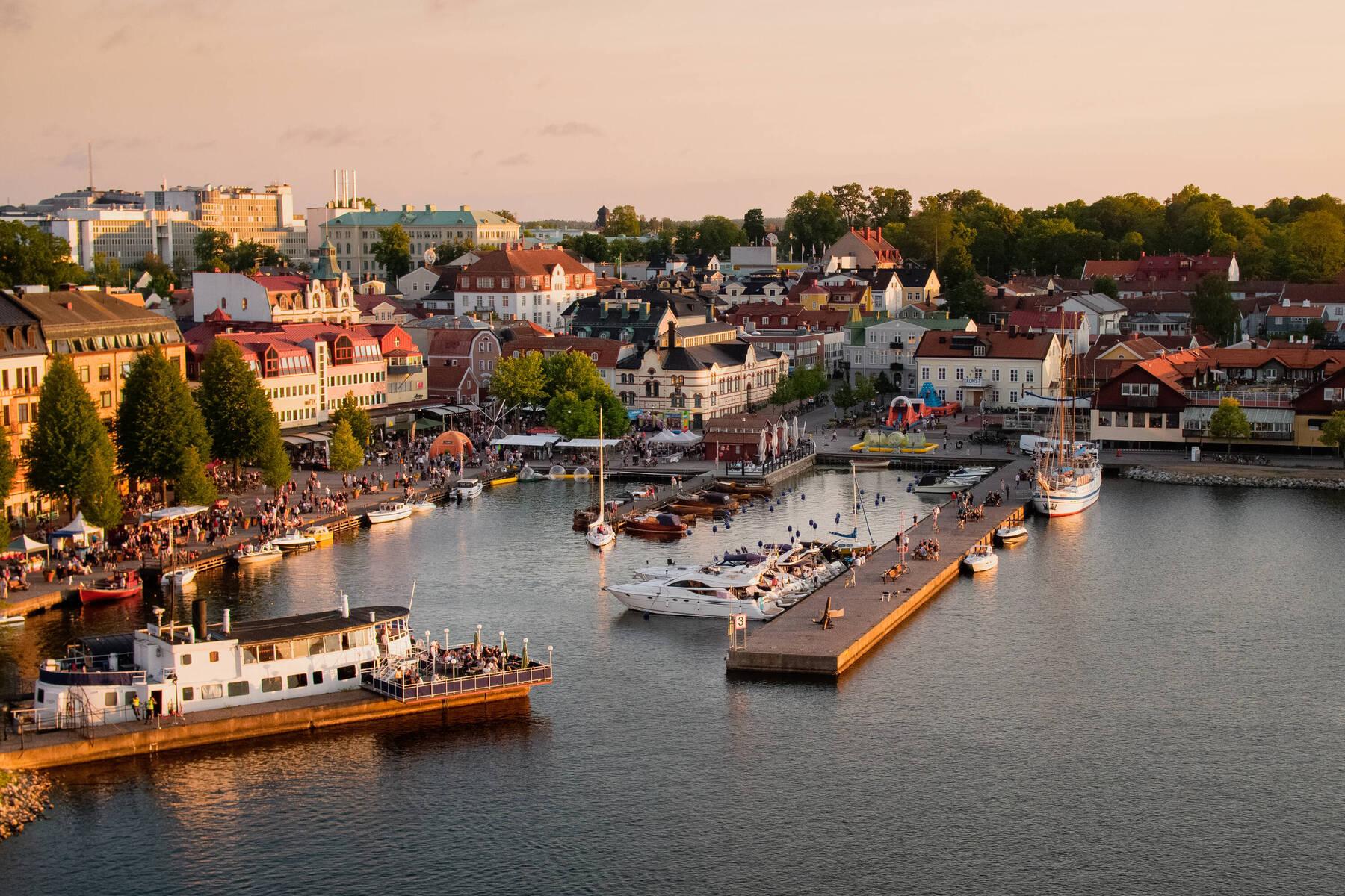 Sommerabend in Västervik