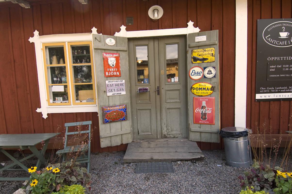 Ein Landcafé in Småland