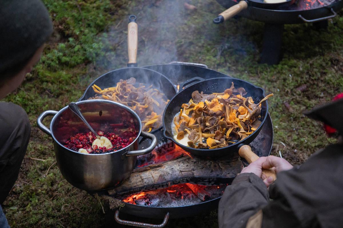 Schweden  - Ein Land wird Restaurant: Festessen draußen in Småland