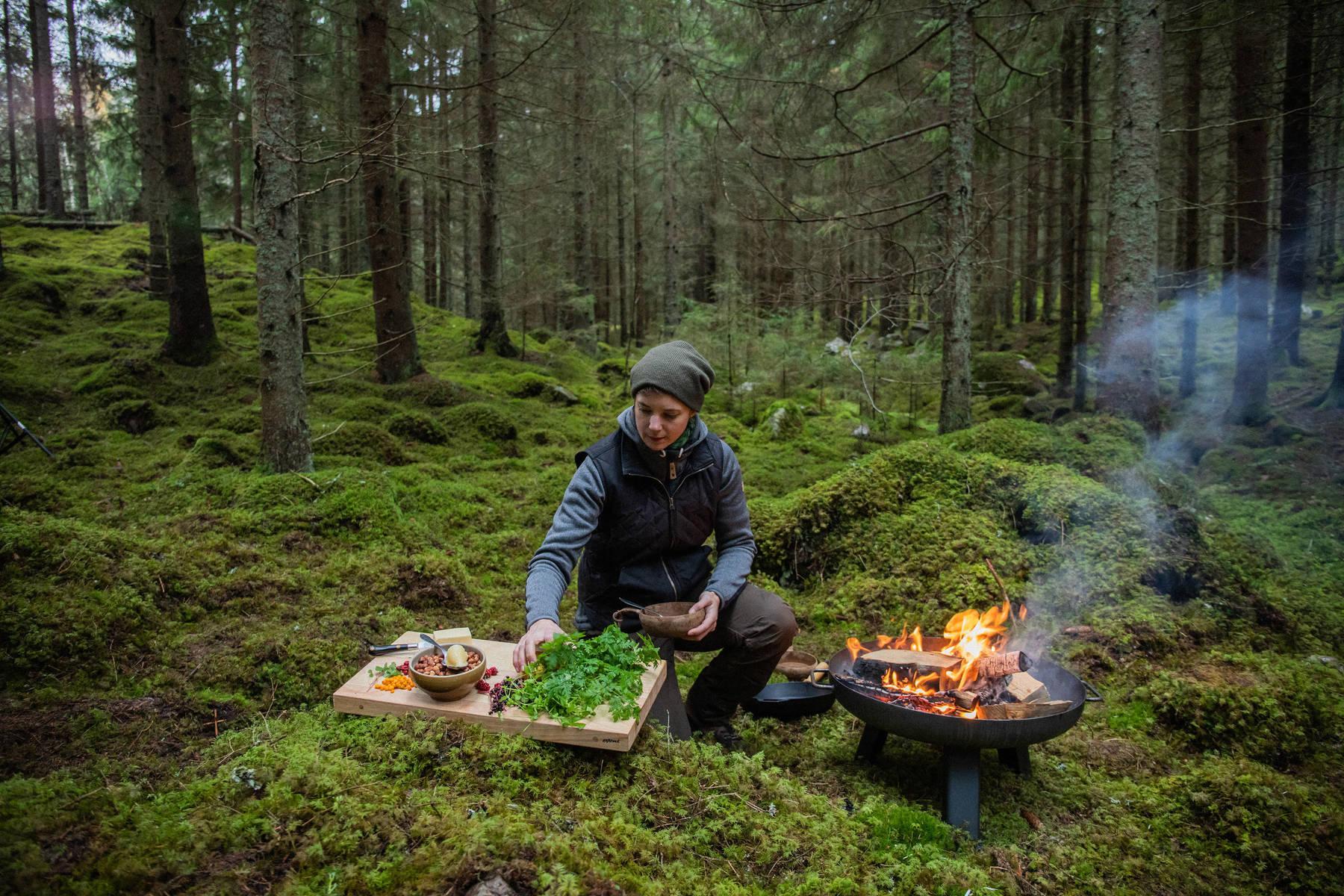 Ein Land wird Restaurant: Outdoorküche in Småland
