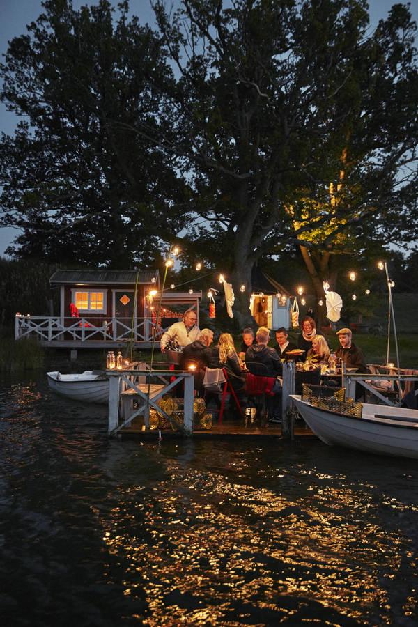 Krebsfest am See Skirösjön