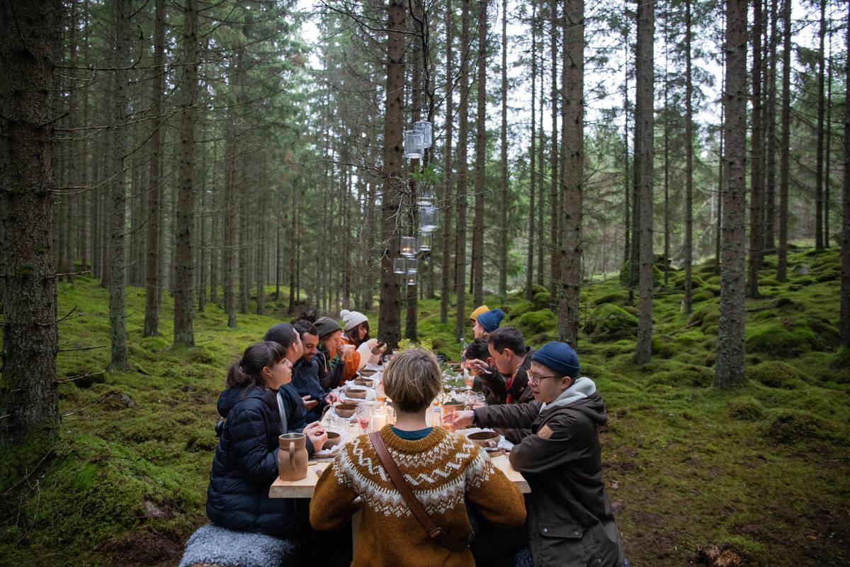 Schweden  - Ein Land wird Restaurant: Verabredung zum Essen im Wald in Småland