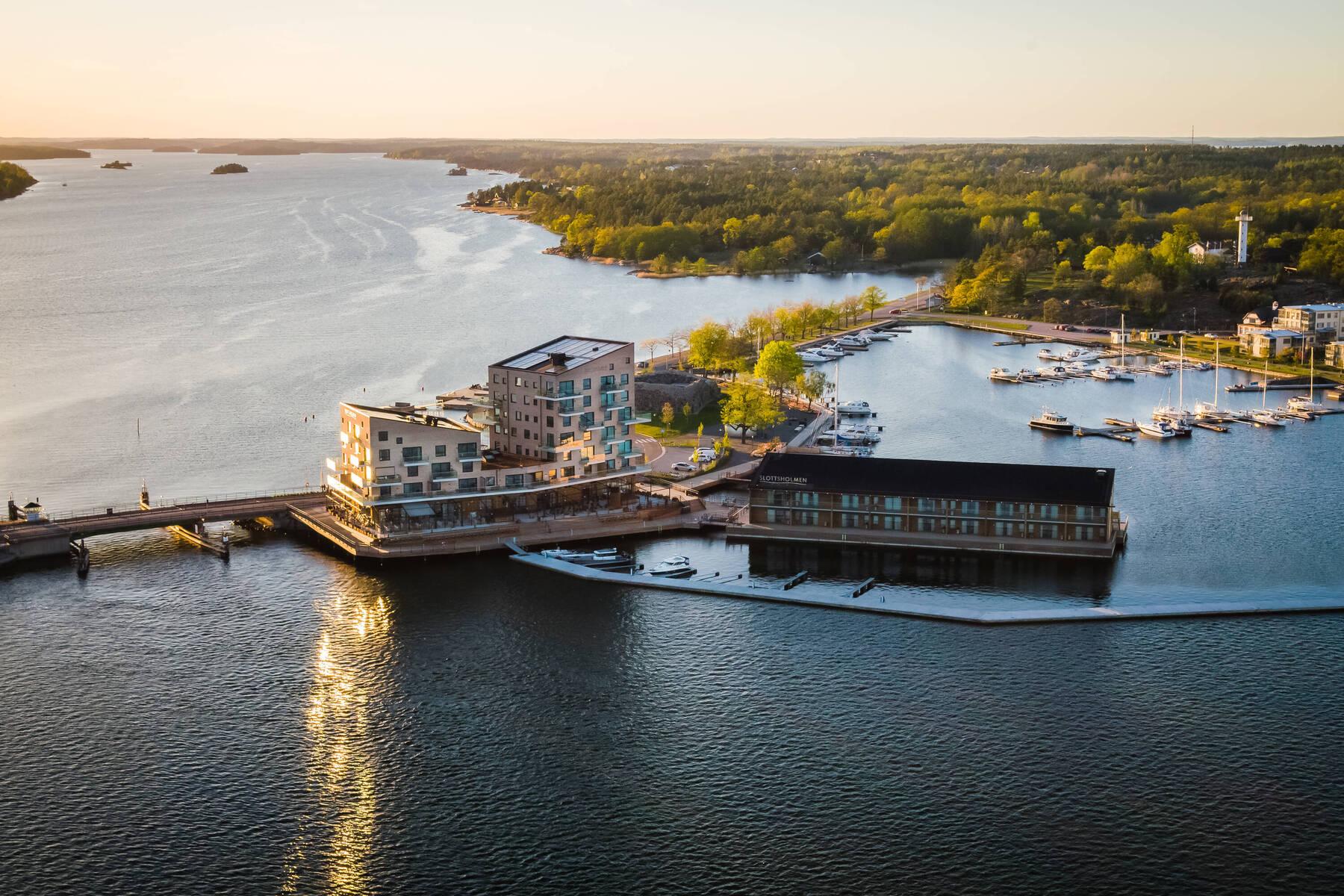 Slottsholmen On Water