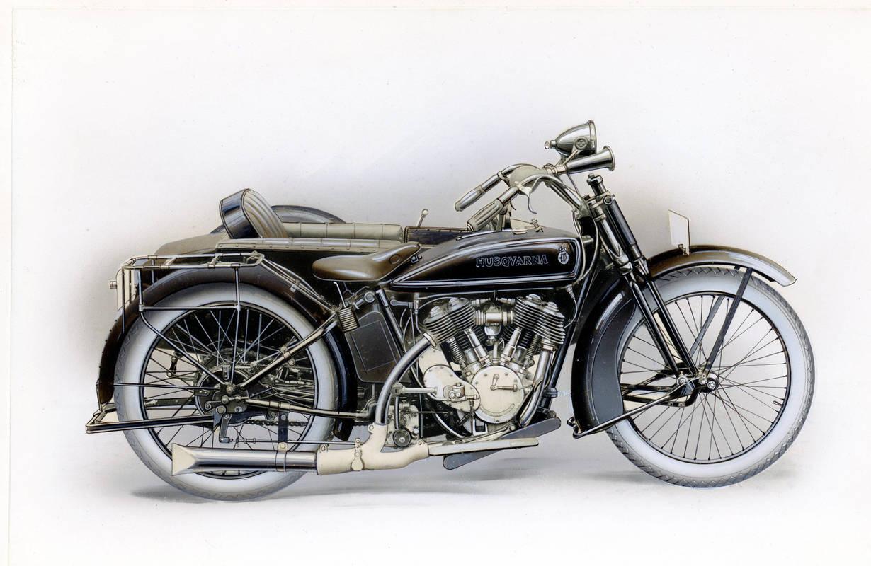 Huskvarna motorcykel