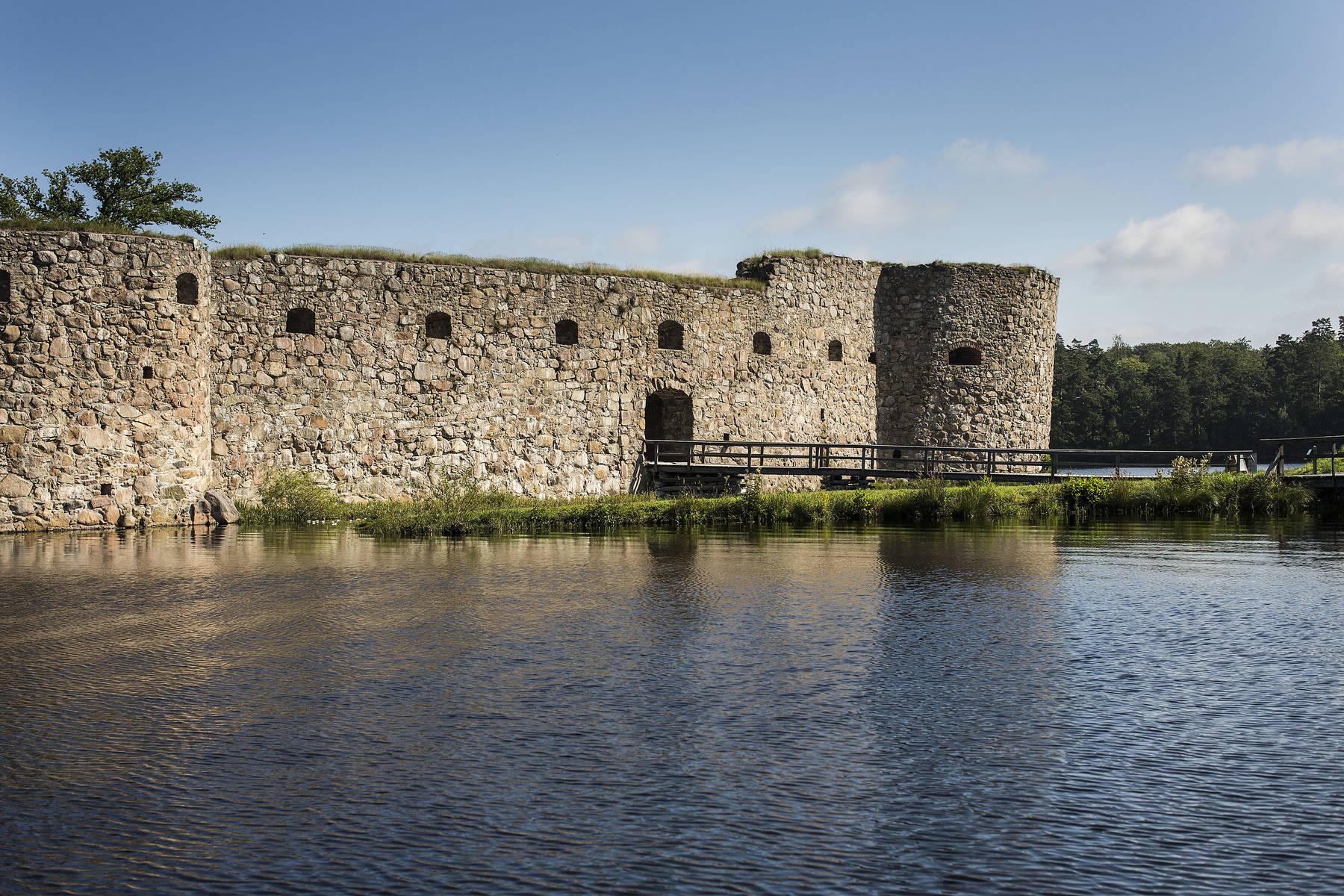 Kronoberg  Castle Ruin