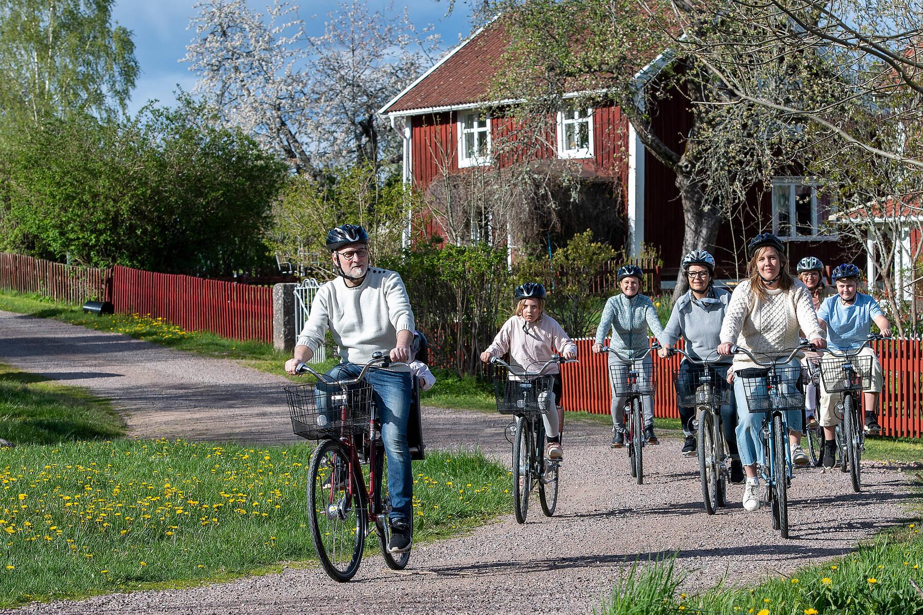 Biking in Småland Astrid Lindgren