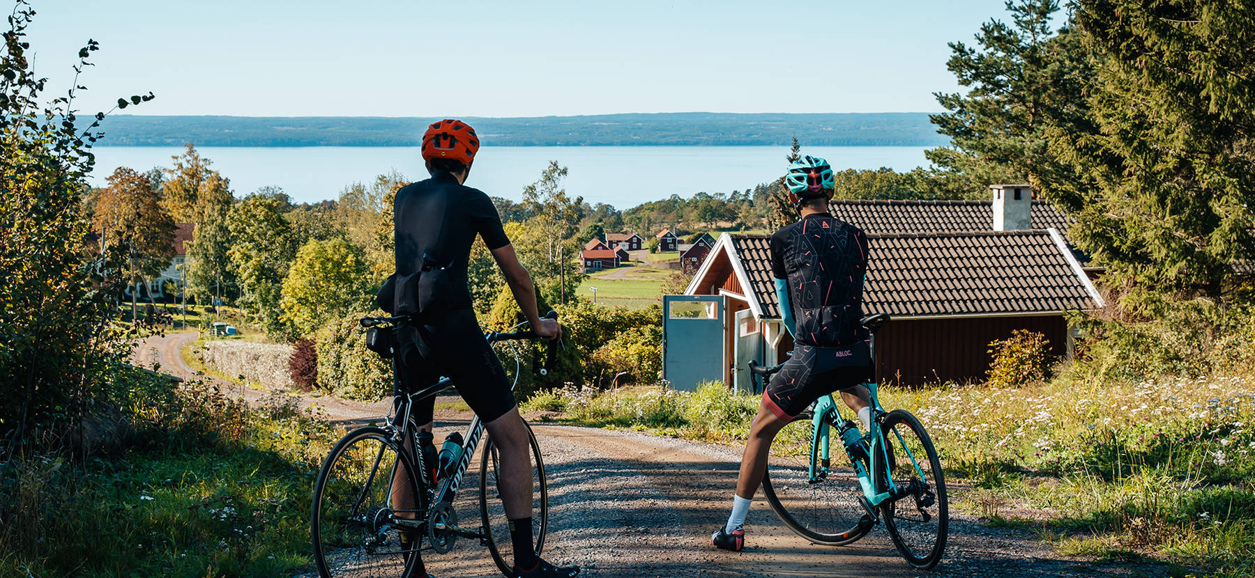 Gravel bike in Småland