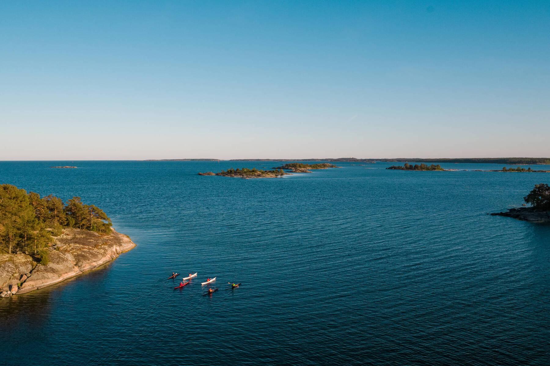 Kayaking in Västervik