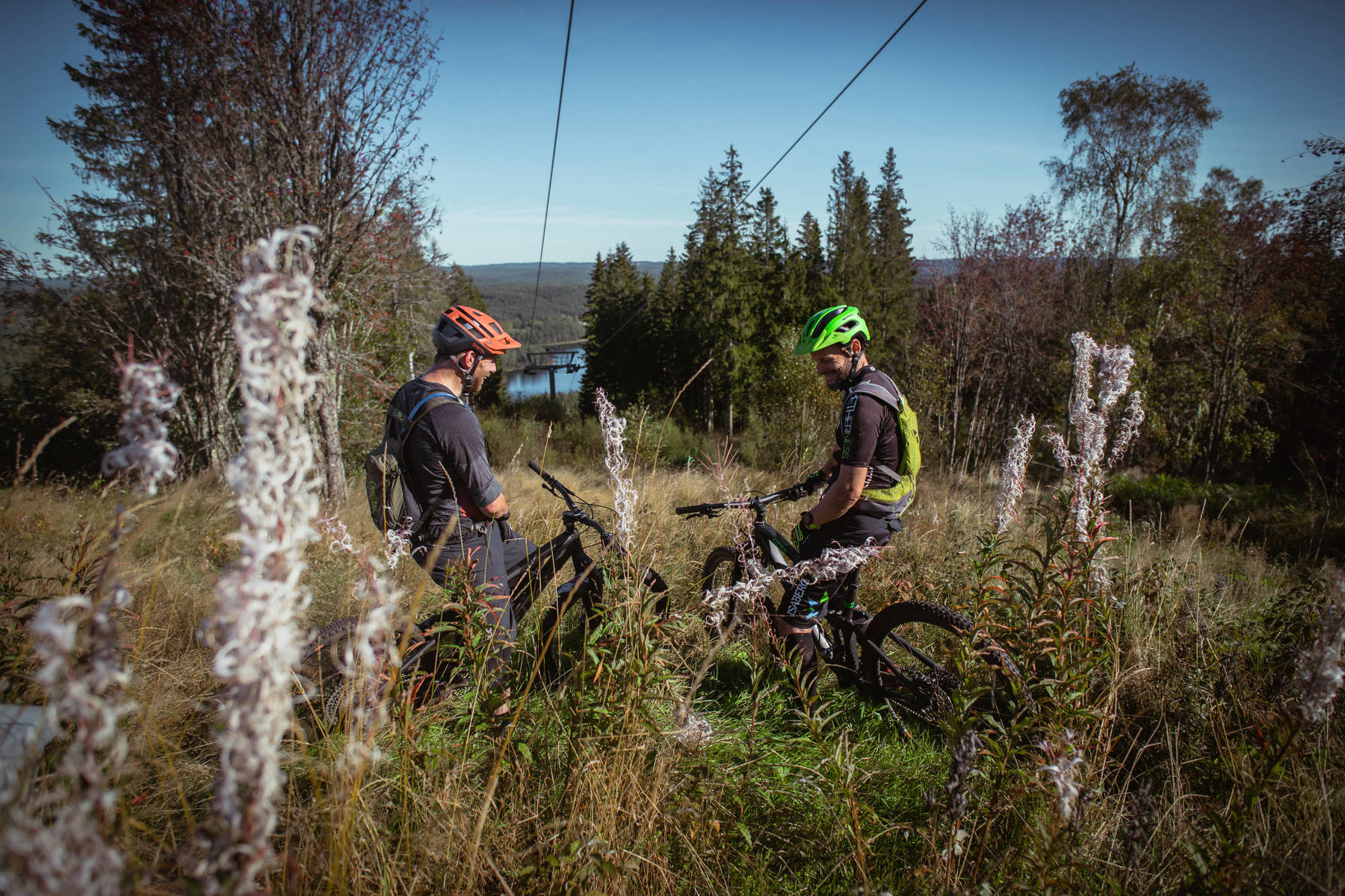 MTB on Isaberg Mountain Resort