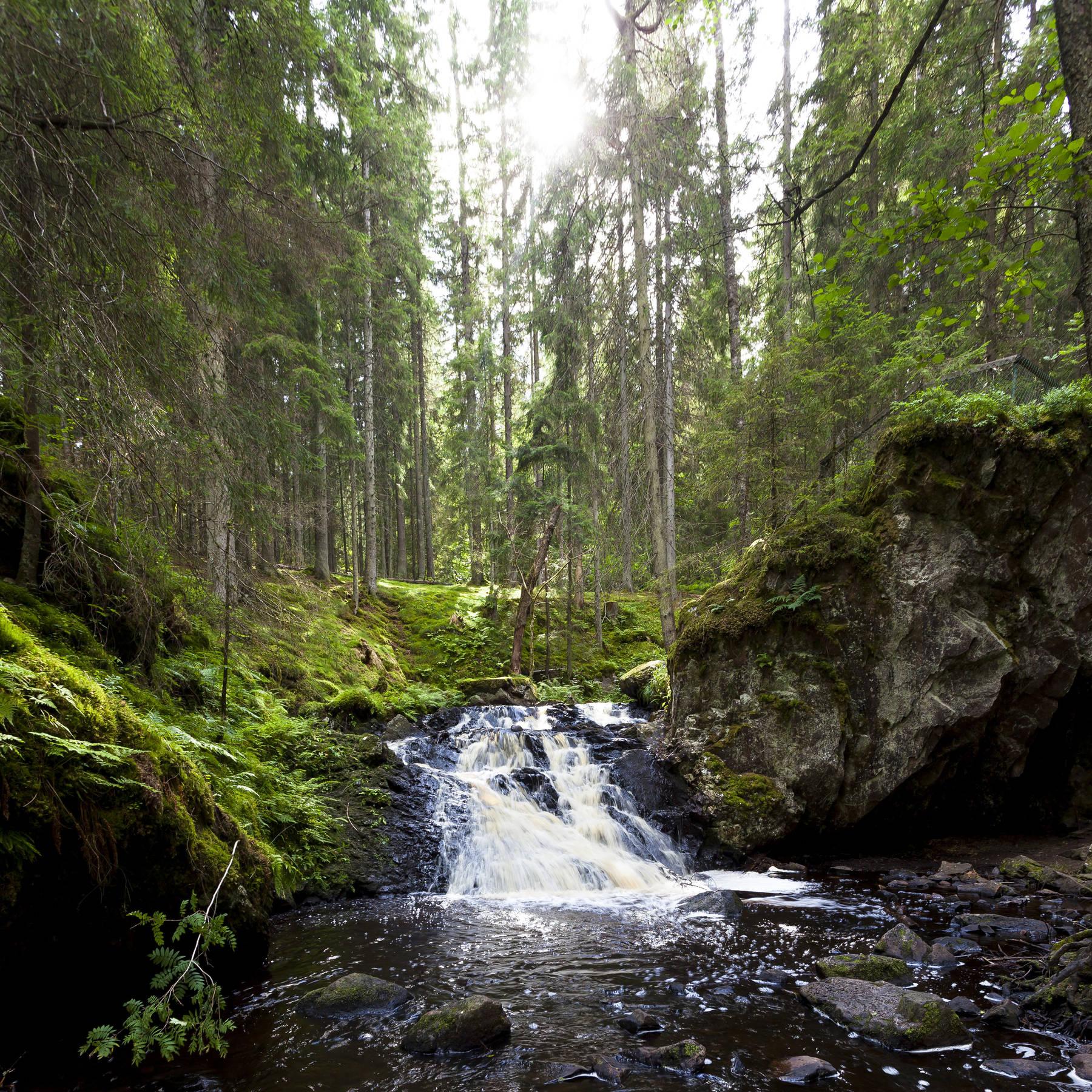 Gränna waterfall