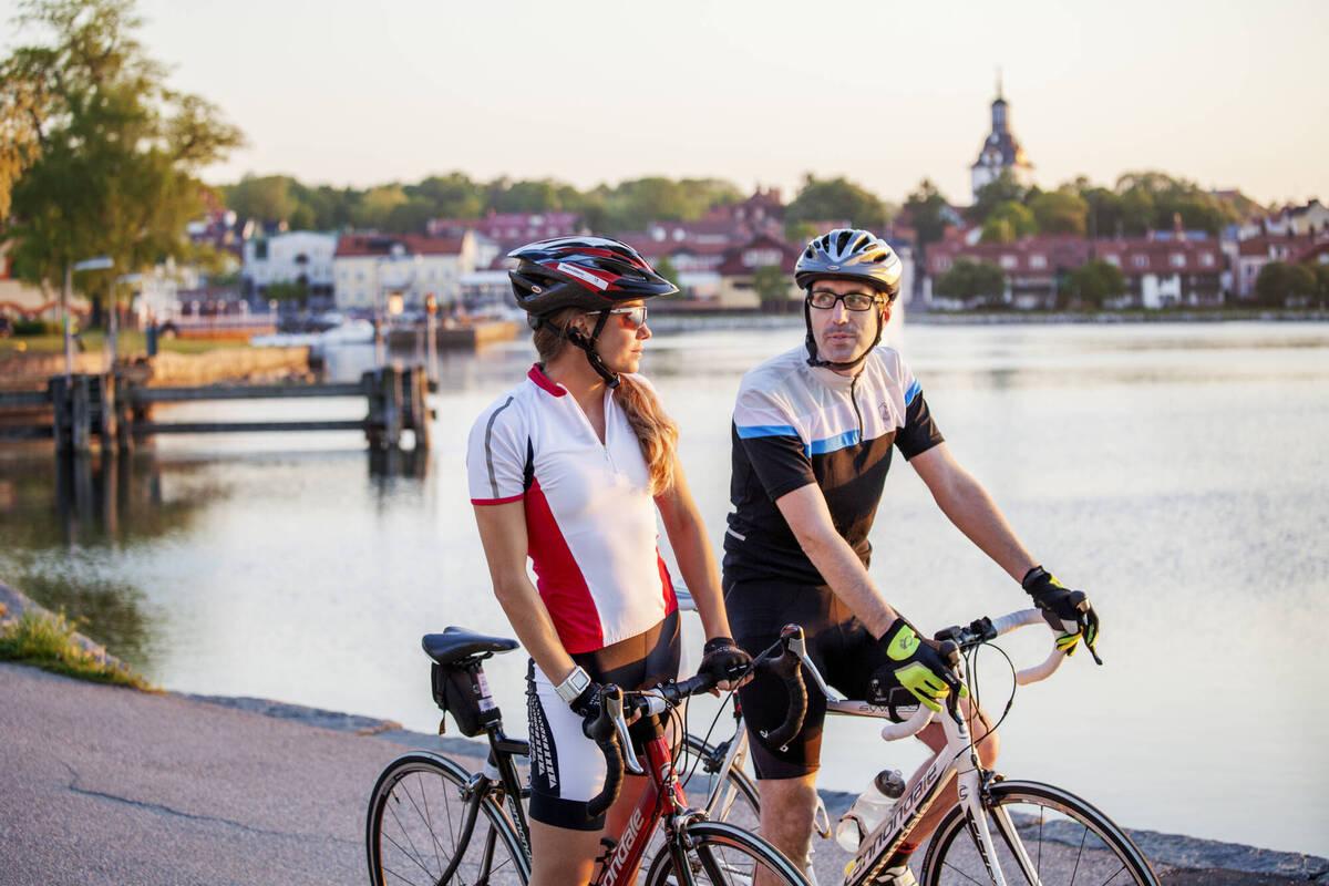 Cycling in Västervik