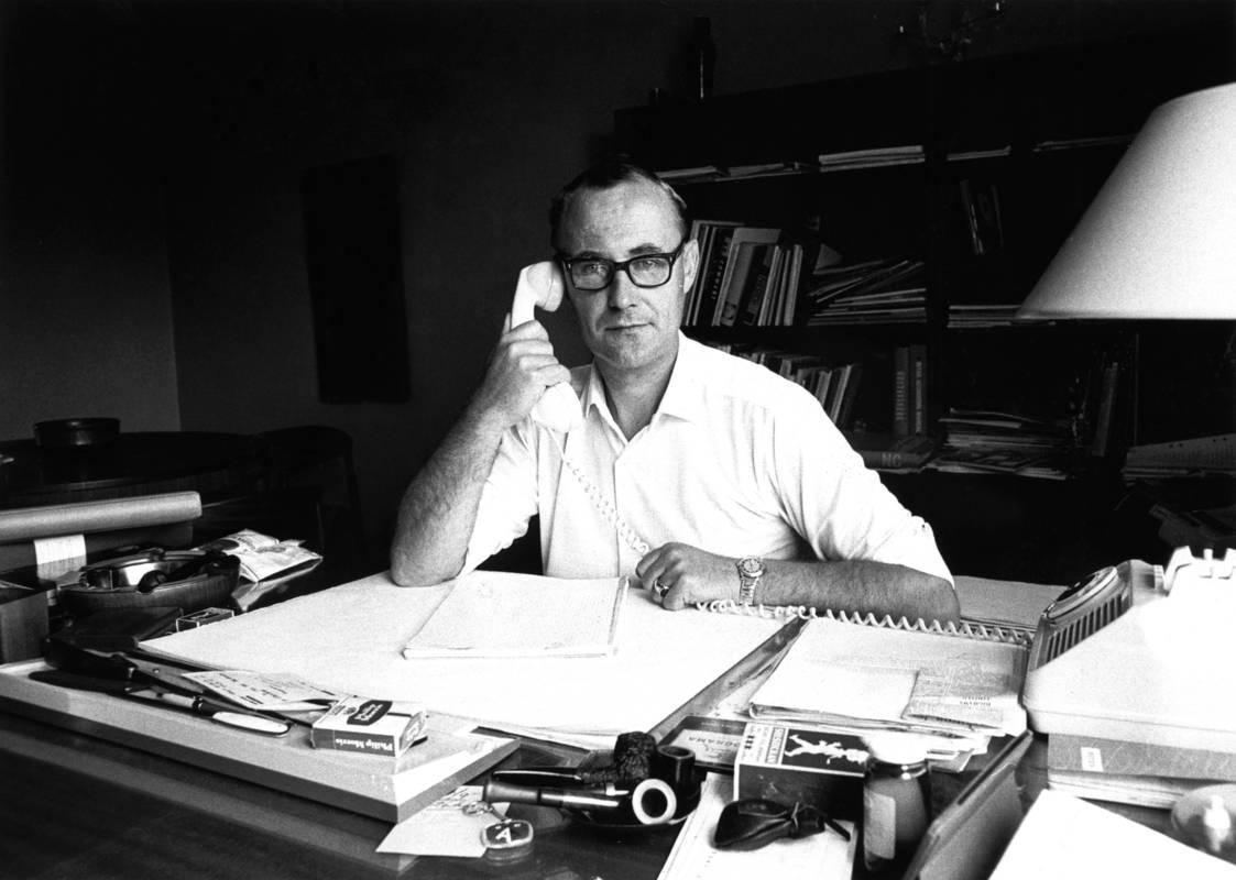 Ingvar Kamprad på sitt kontor