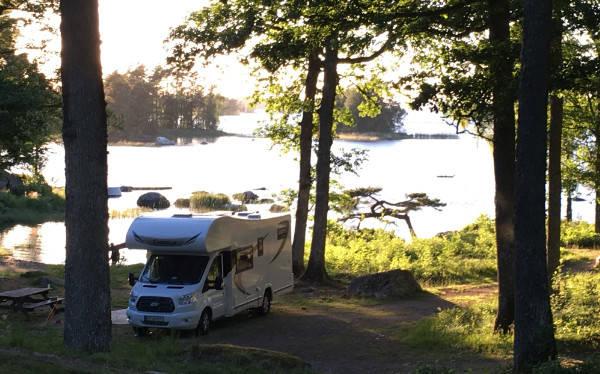Naturcamping på Getnö