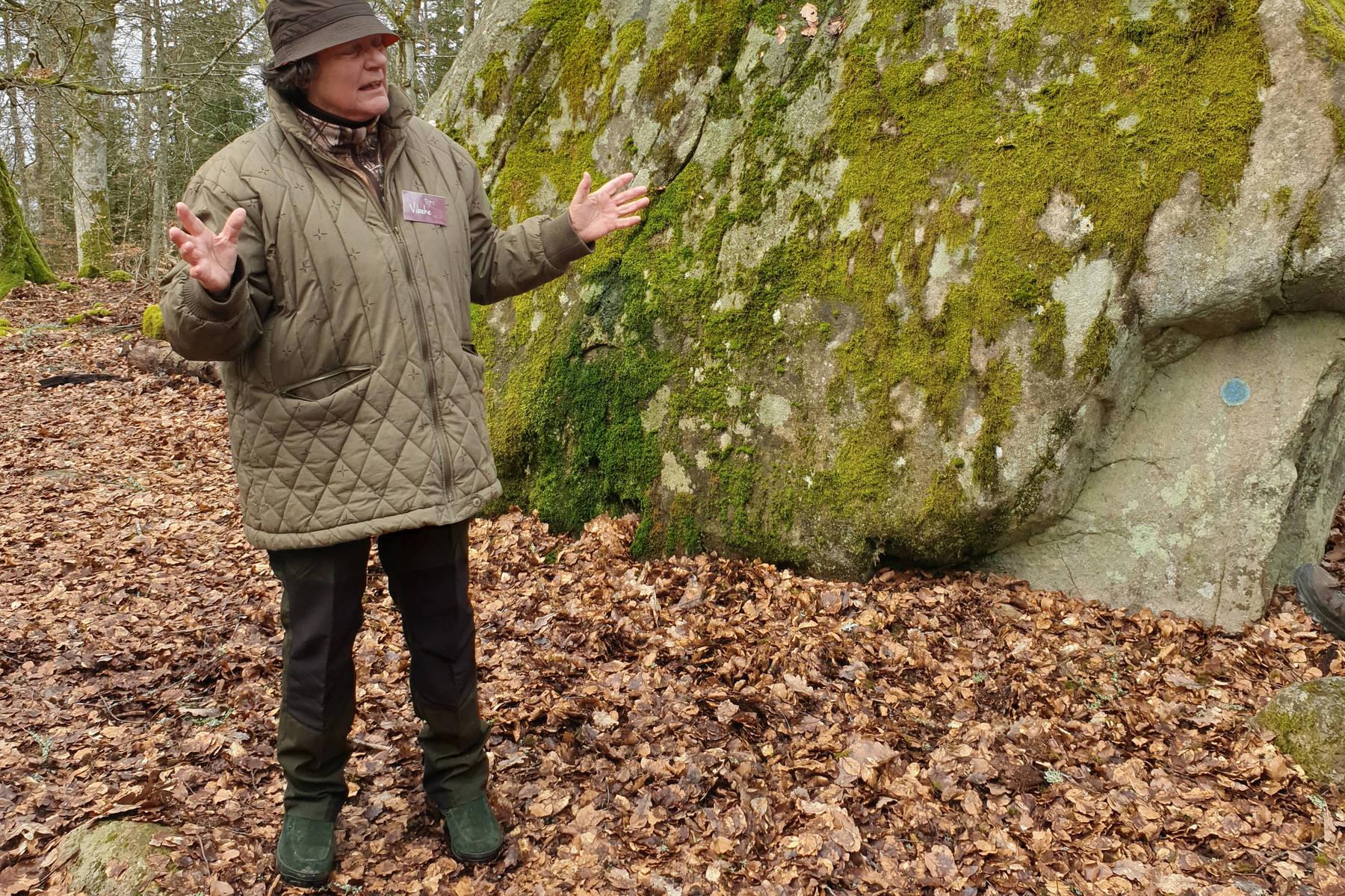 Vibeke erbjuder berättarvandringar i nationalparken
