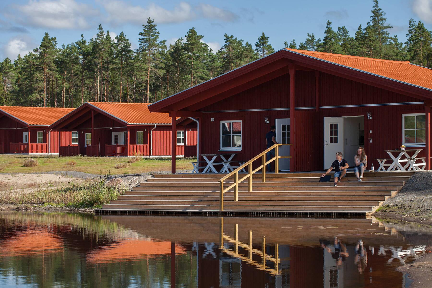 Kosta Lodge vandrarhem stugby Småland