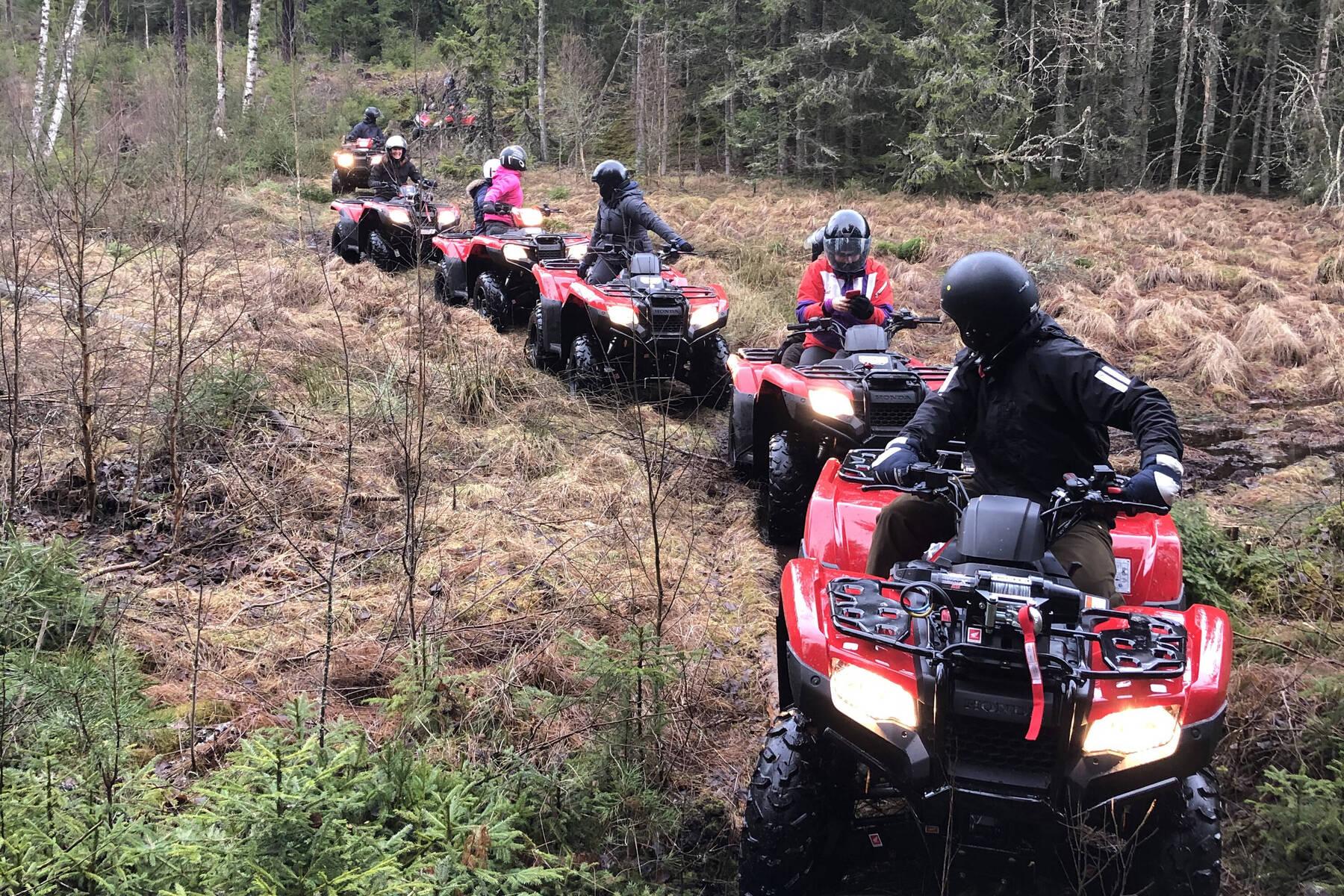 Spännande med fyrhjulingskörning