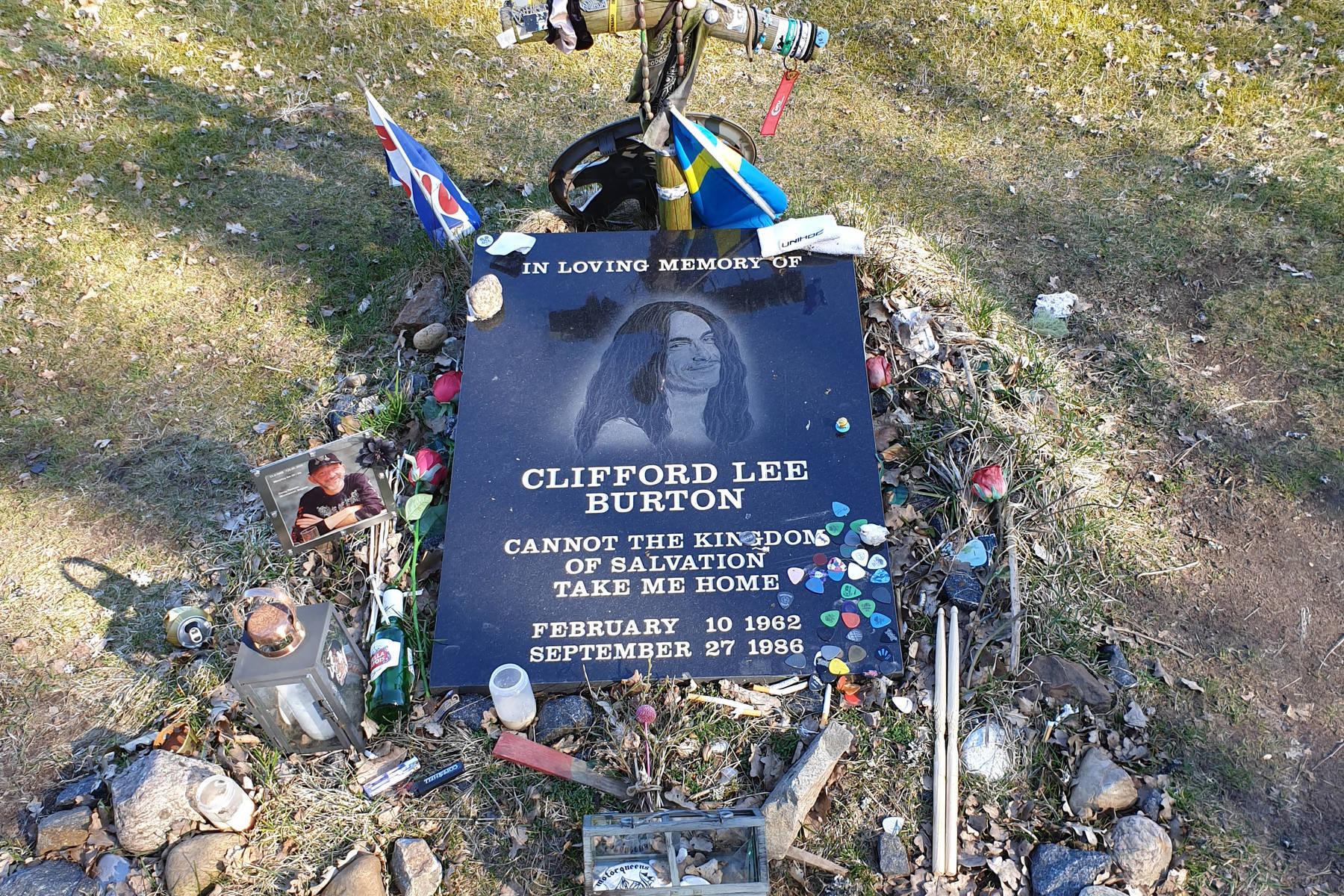 Cliff Burtons minnessten