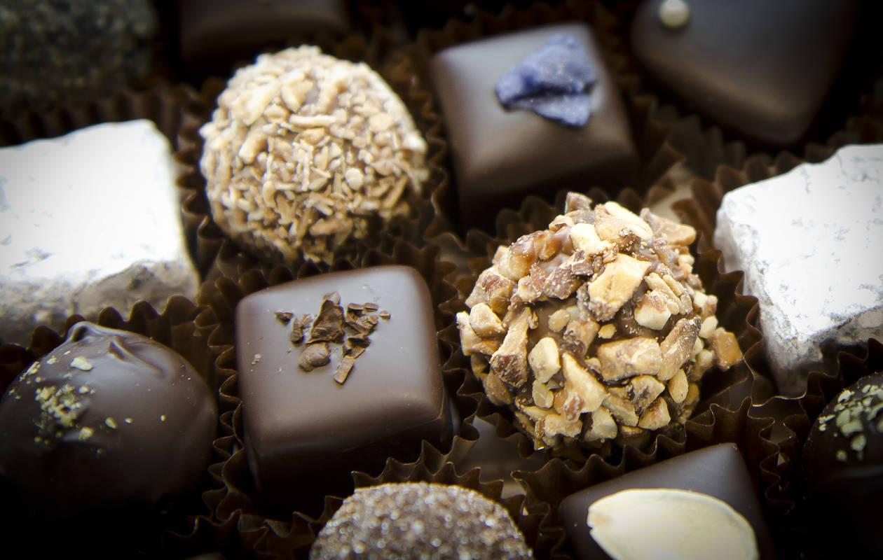 Chokladpraliner från Johannas choklad