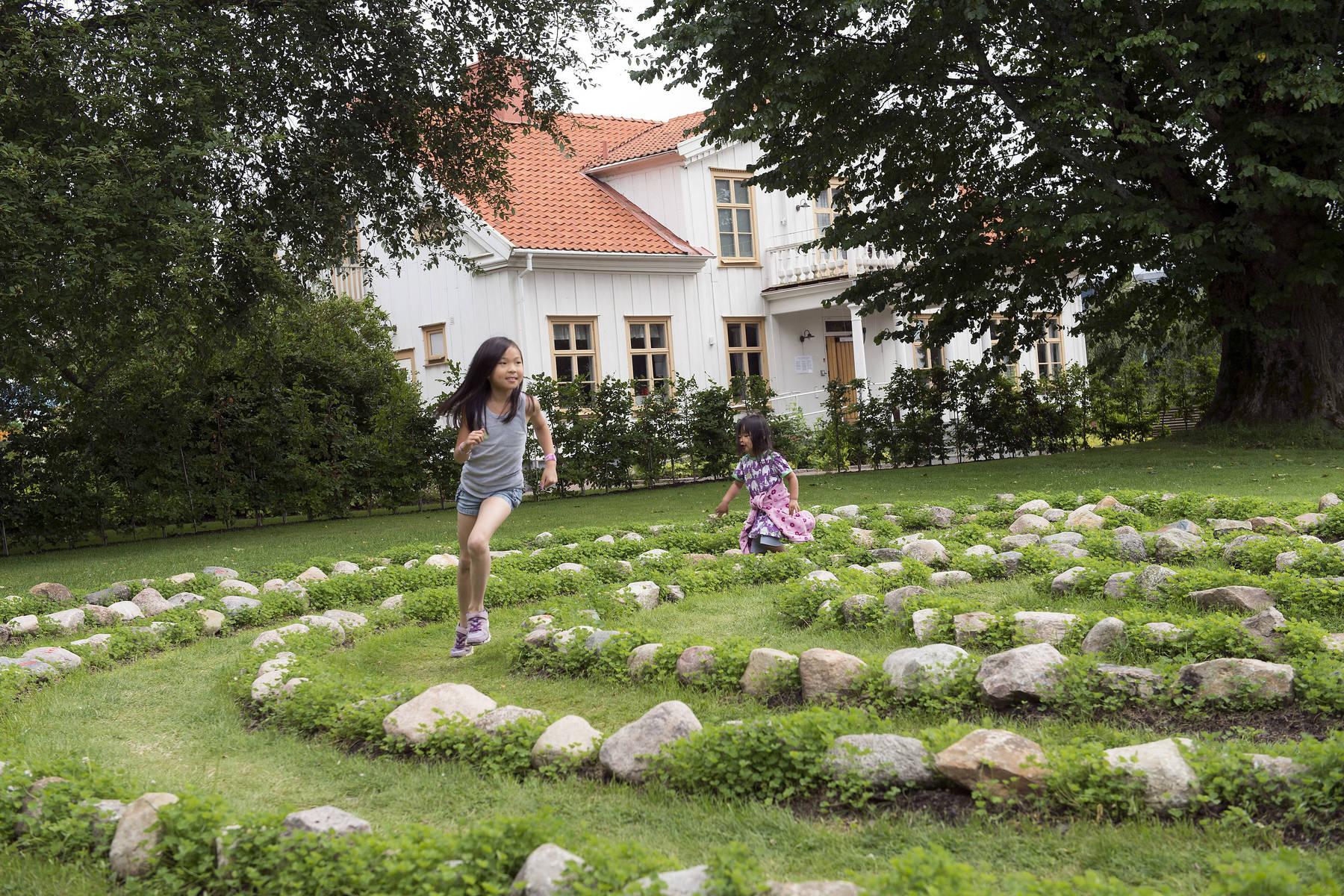 Labyrint på Astrid Lindgrens Näs