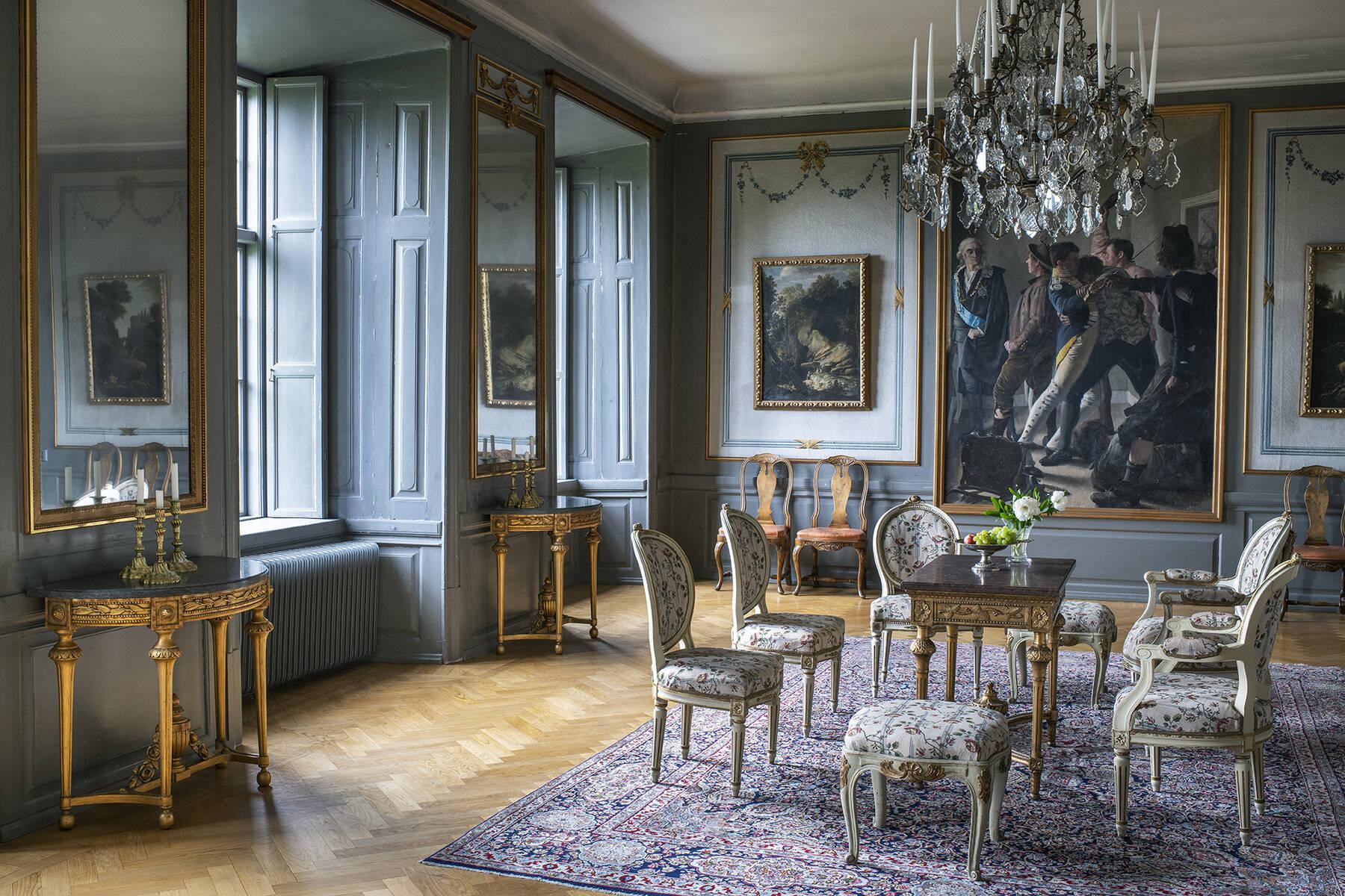 Inuti ett svenskt slott