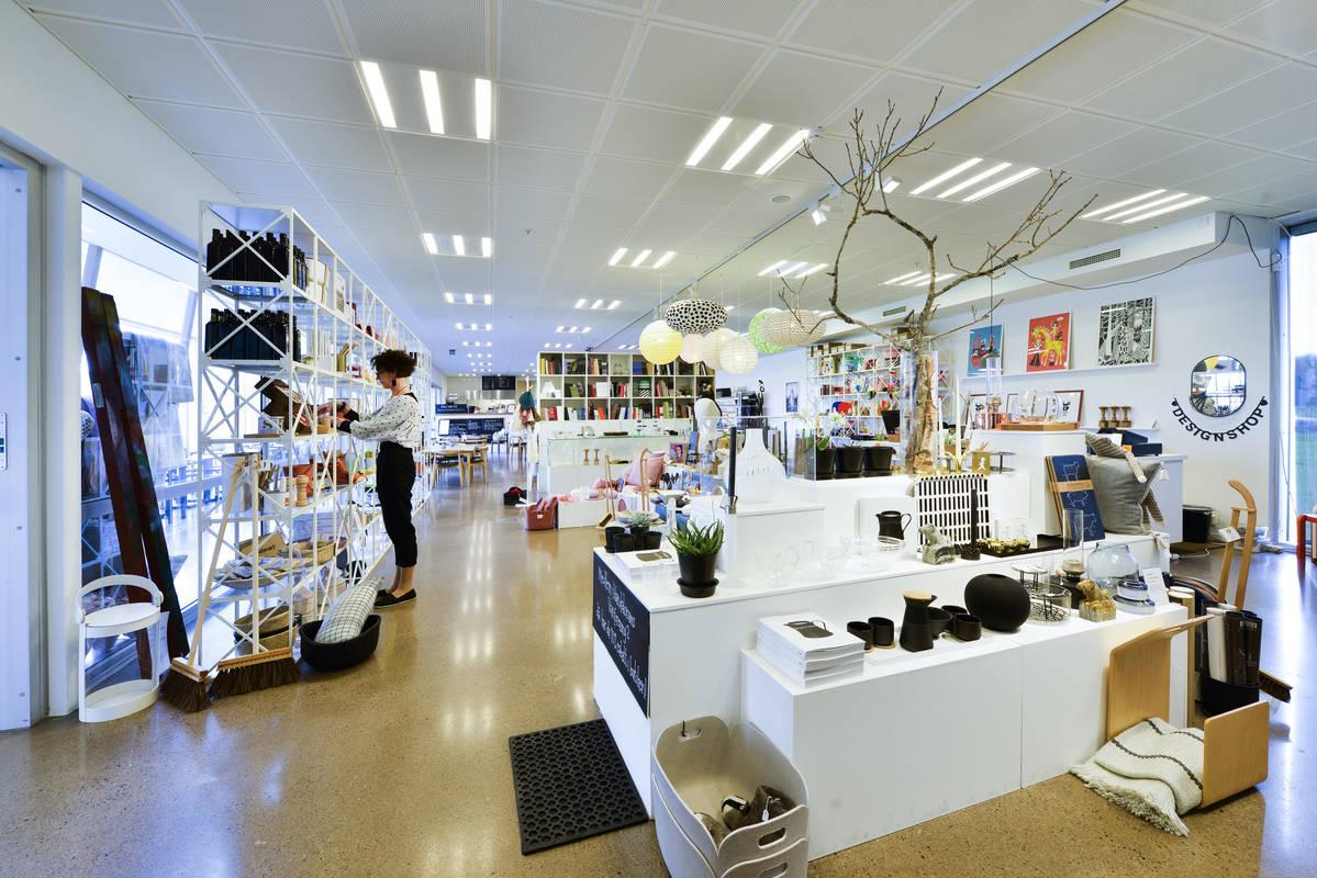 Designbutik på Vandalorum