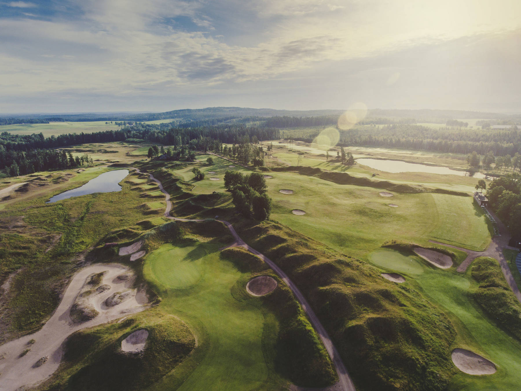 golfbana Sand golf club