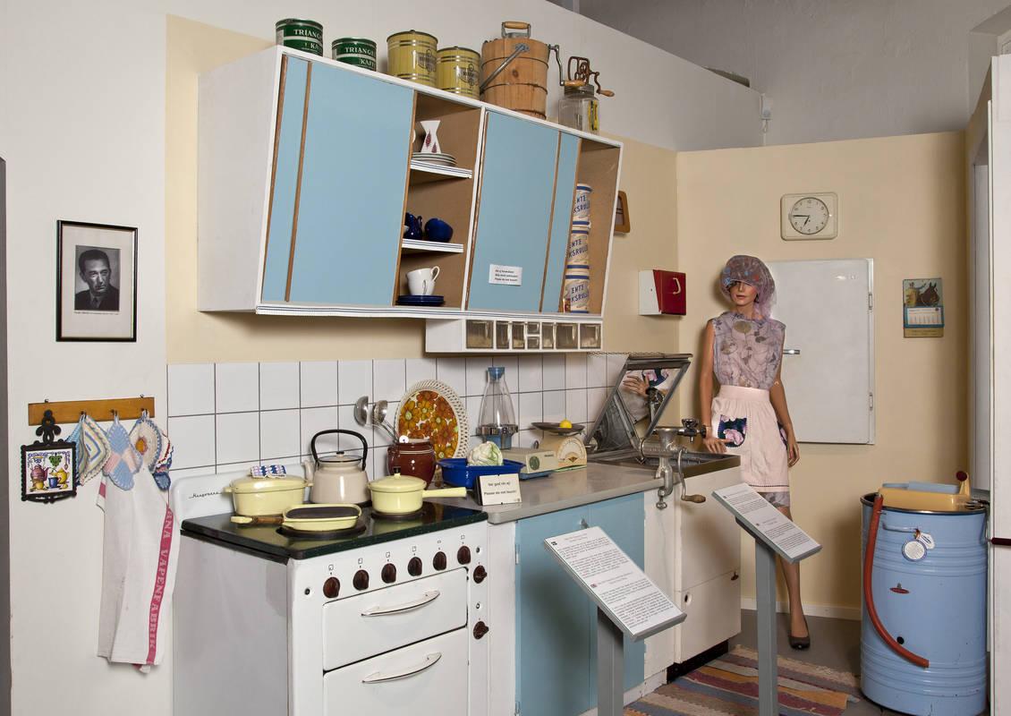 50-tals kök med produkter från Husqvarna