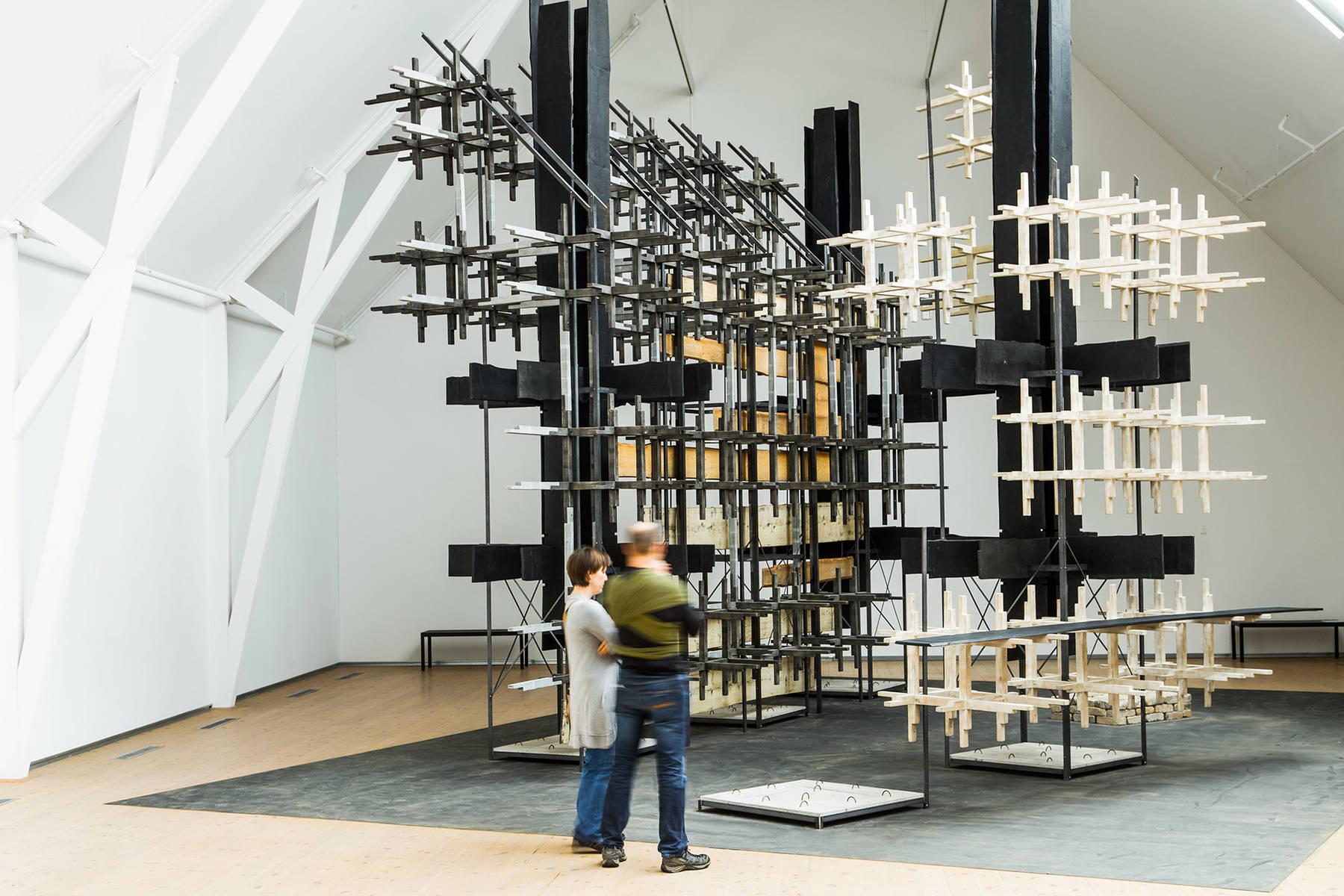 Utställning på Vandalorum