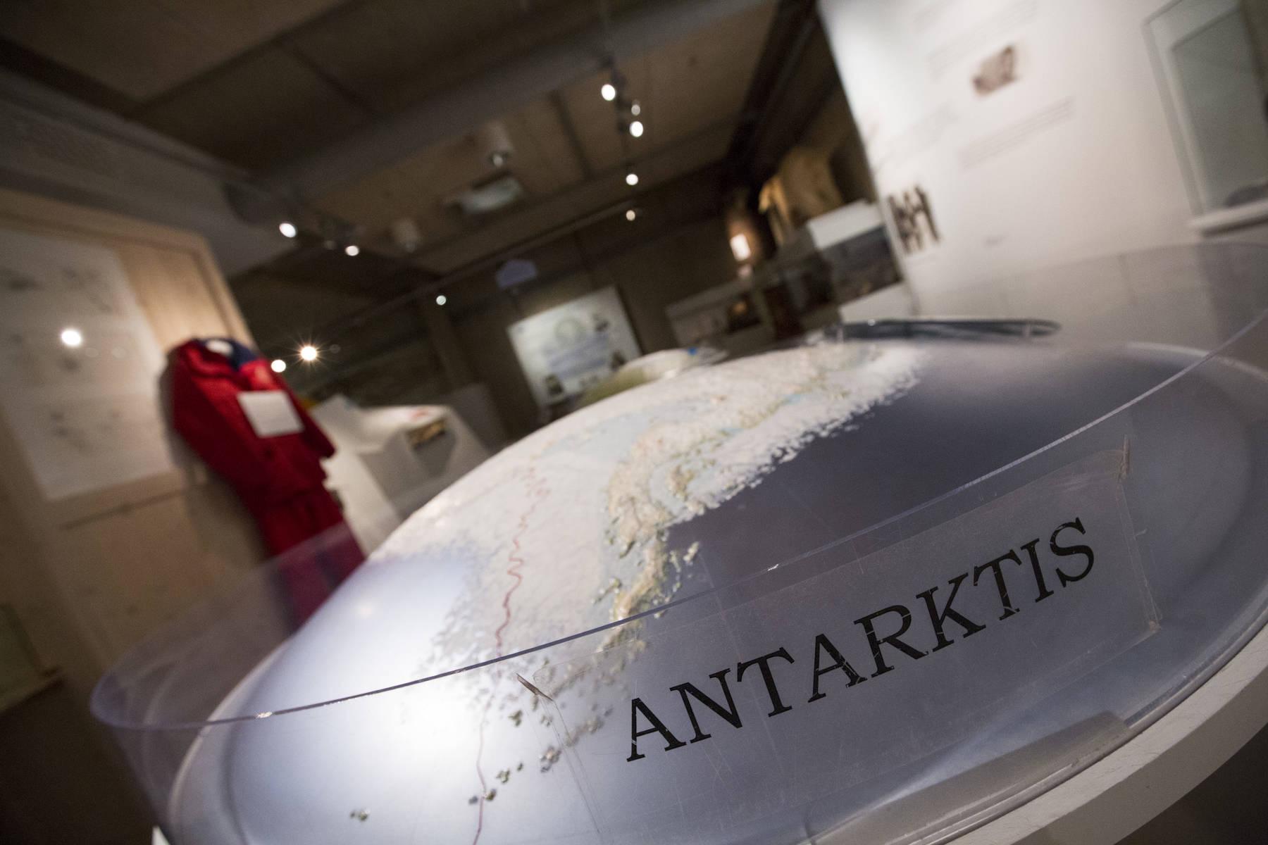 Grenna museum med utställning om Andrée-expeditionen