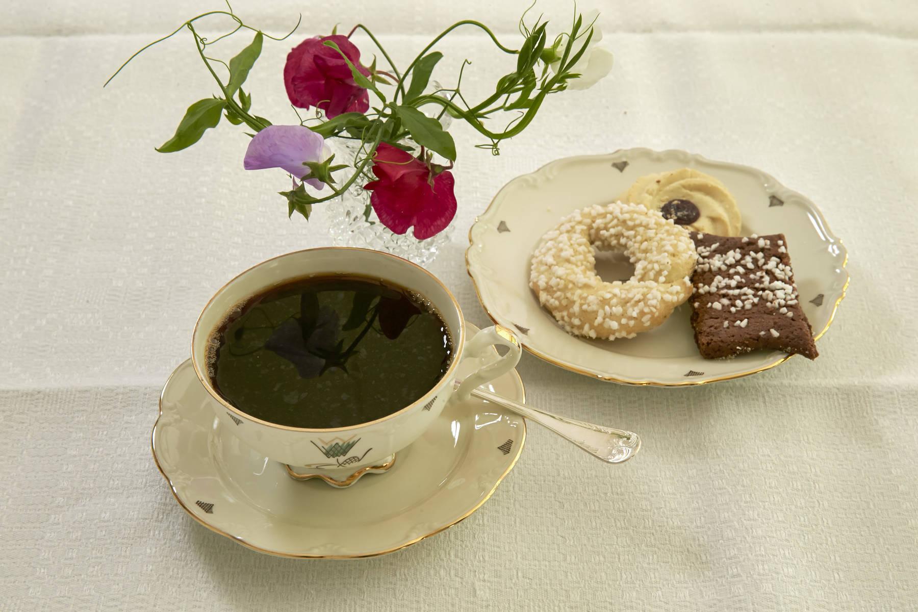 Kaffe med bröd