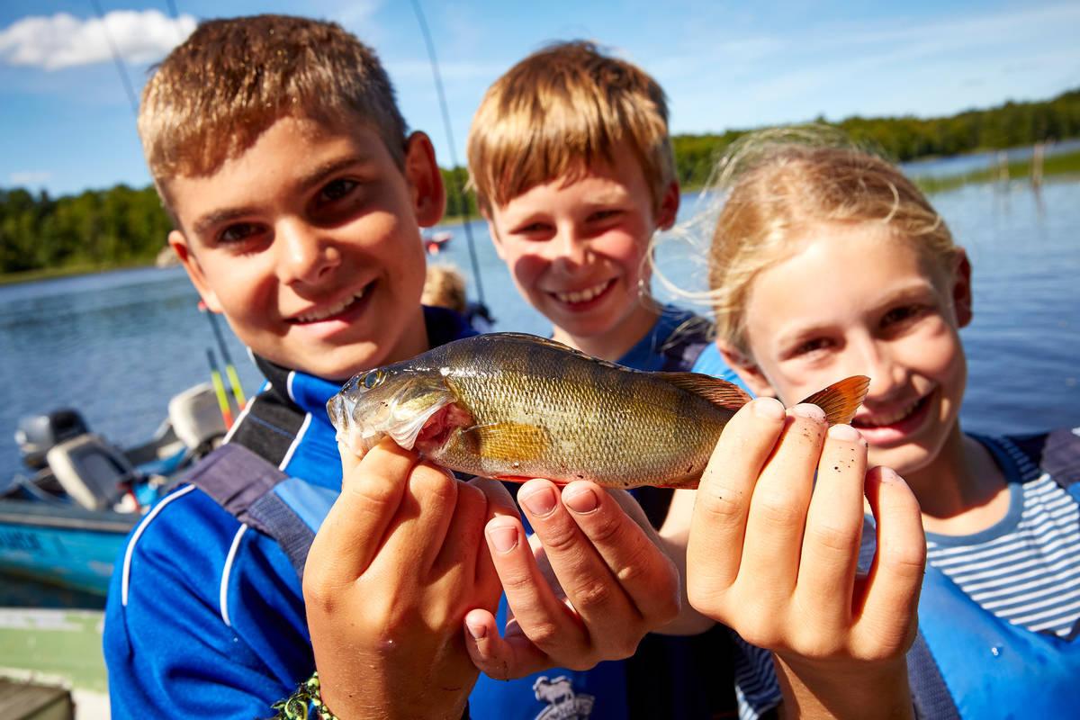 Fiskeskola på Getnö